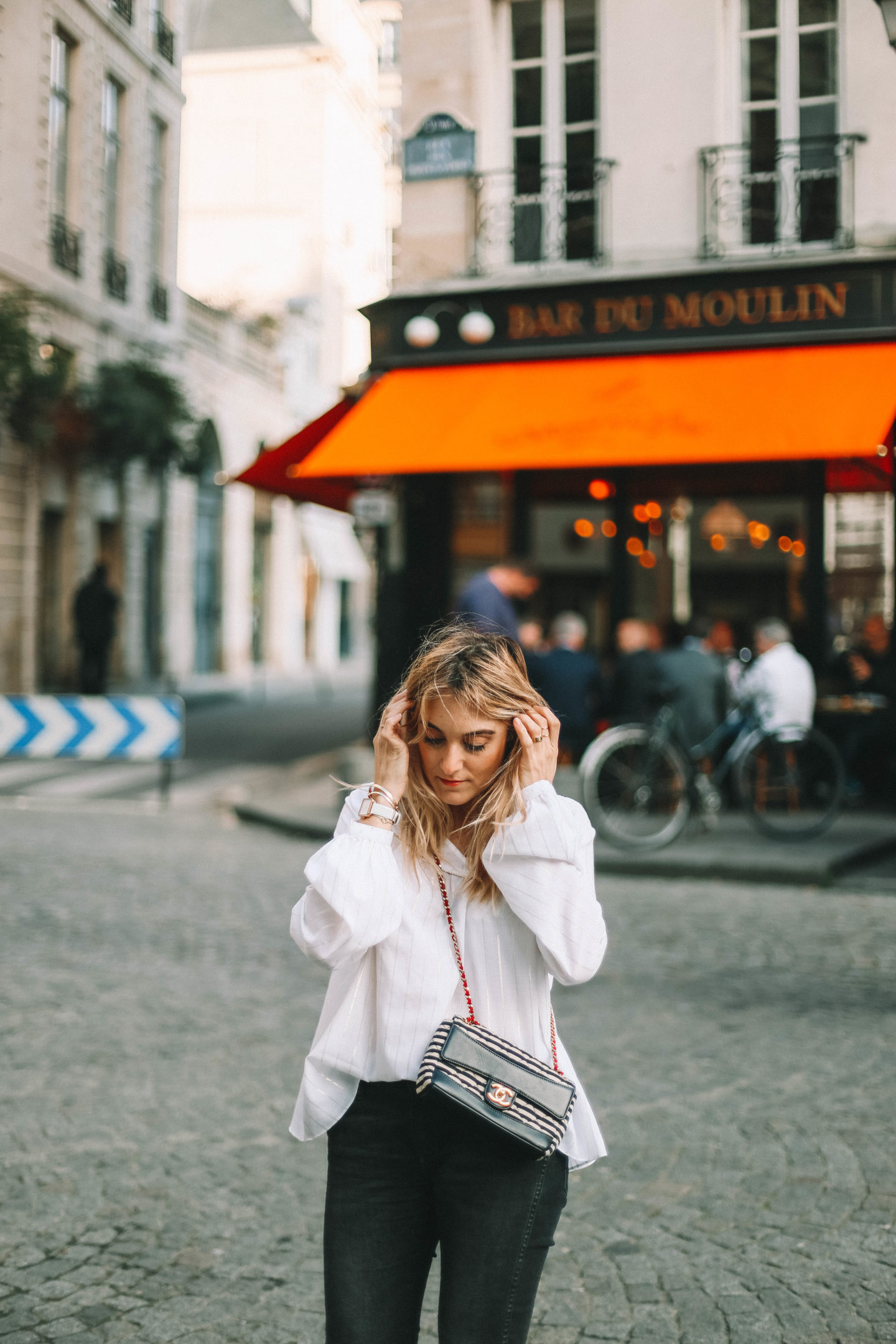 Sac Chanel - Blondie Baby blog mode Paris et voyages