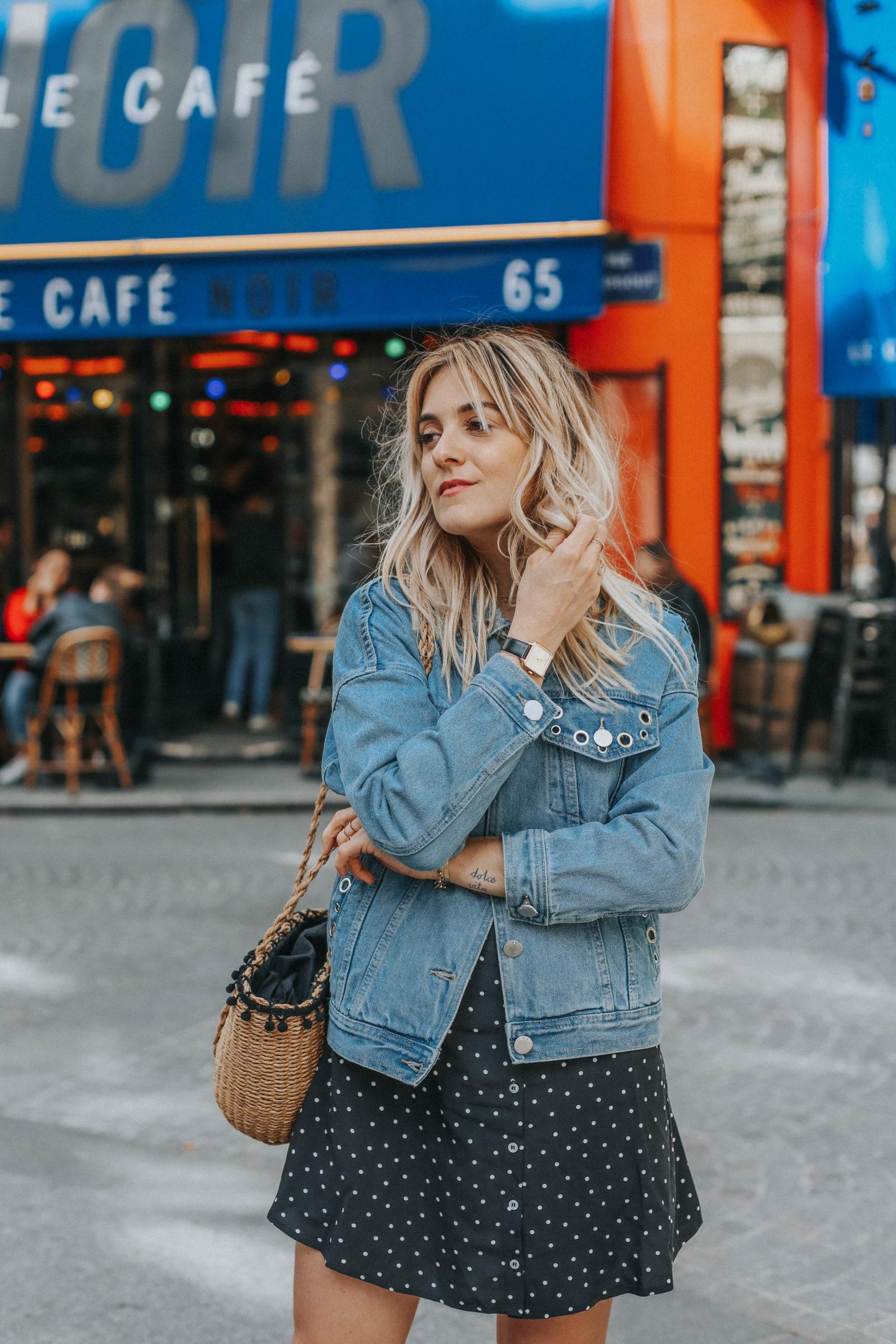 Veste en Jean Suncoo - Blondie Baby blog mode Paris et voyages
