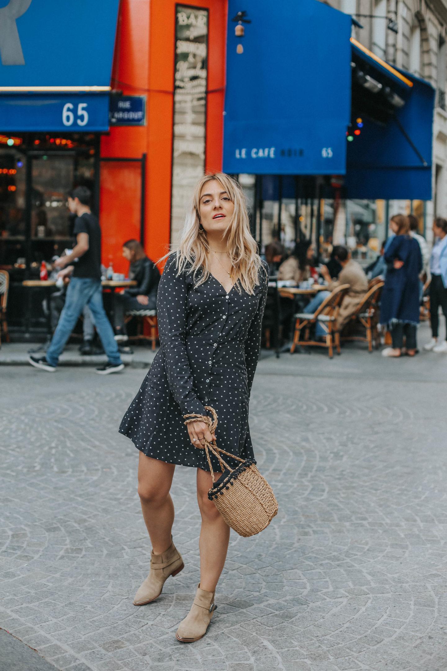 Boots IKKS - Blondie Baby blog mode Paris et voyages