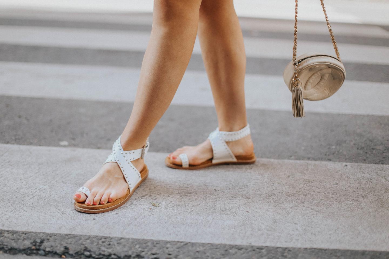 Sandales à clous Vanessa Wu - Blondie Baby blog mode Paris et voyages