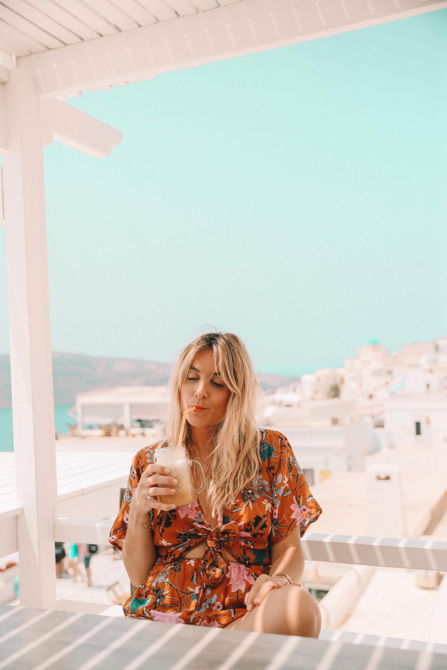 Visiter Oìa Grèce - Blondie Baby blog mode et voyages