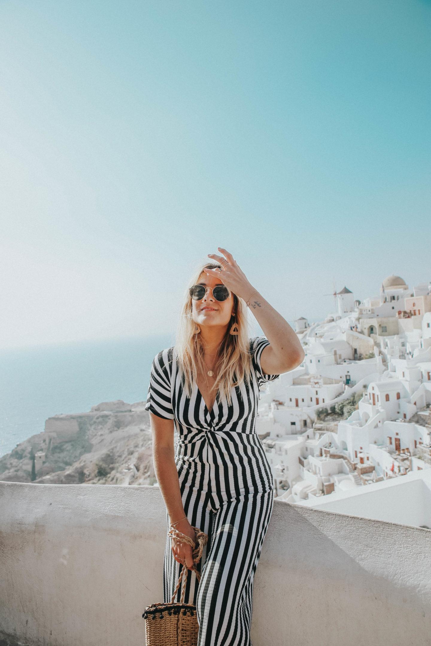 Combinaison Stradivarius - Blondie Baby blog mode et voyages