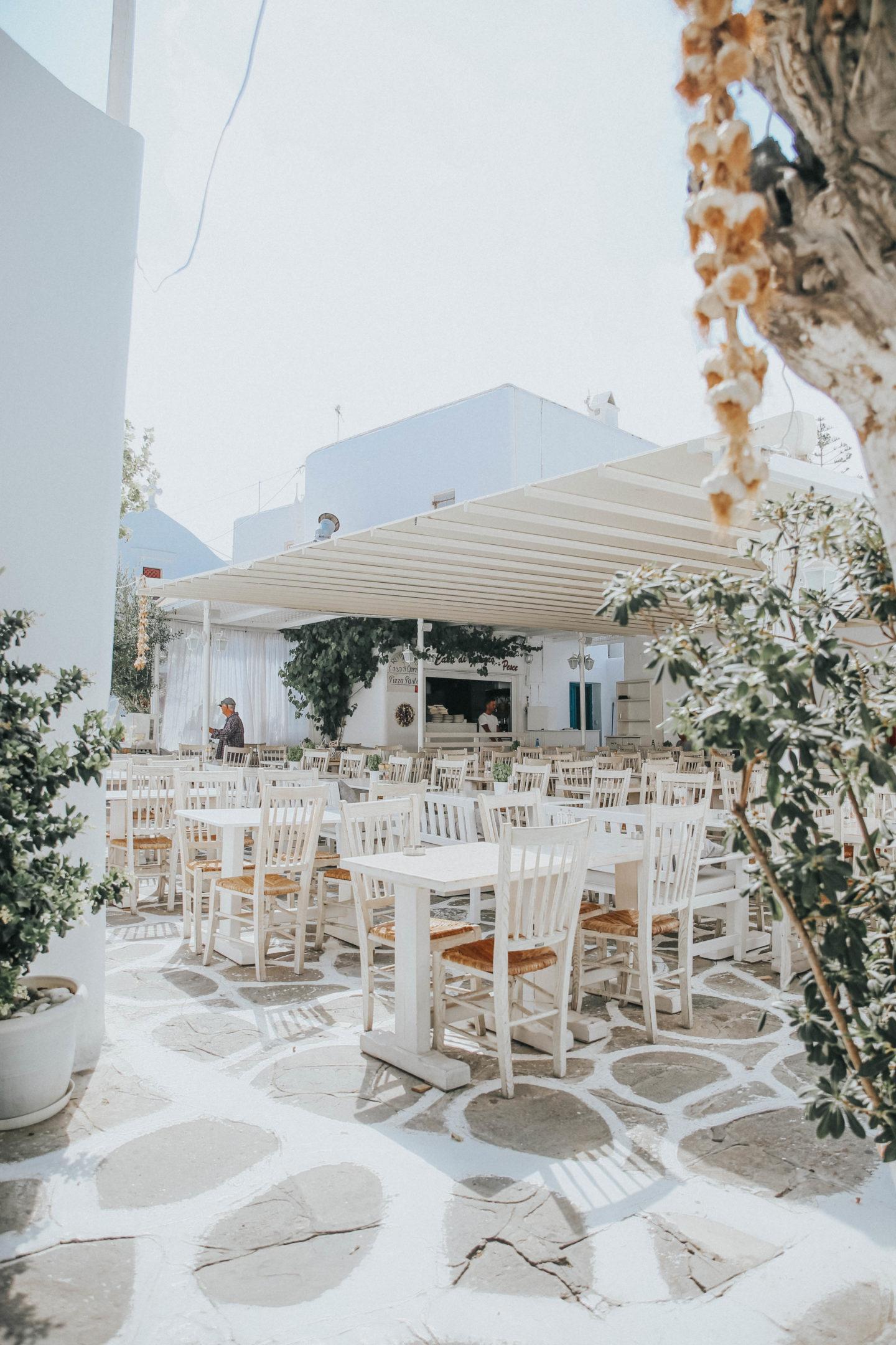 Restaurants Mykonos - Blondie Baby blog mode et voyages
