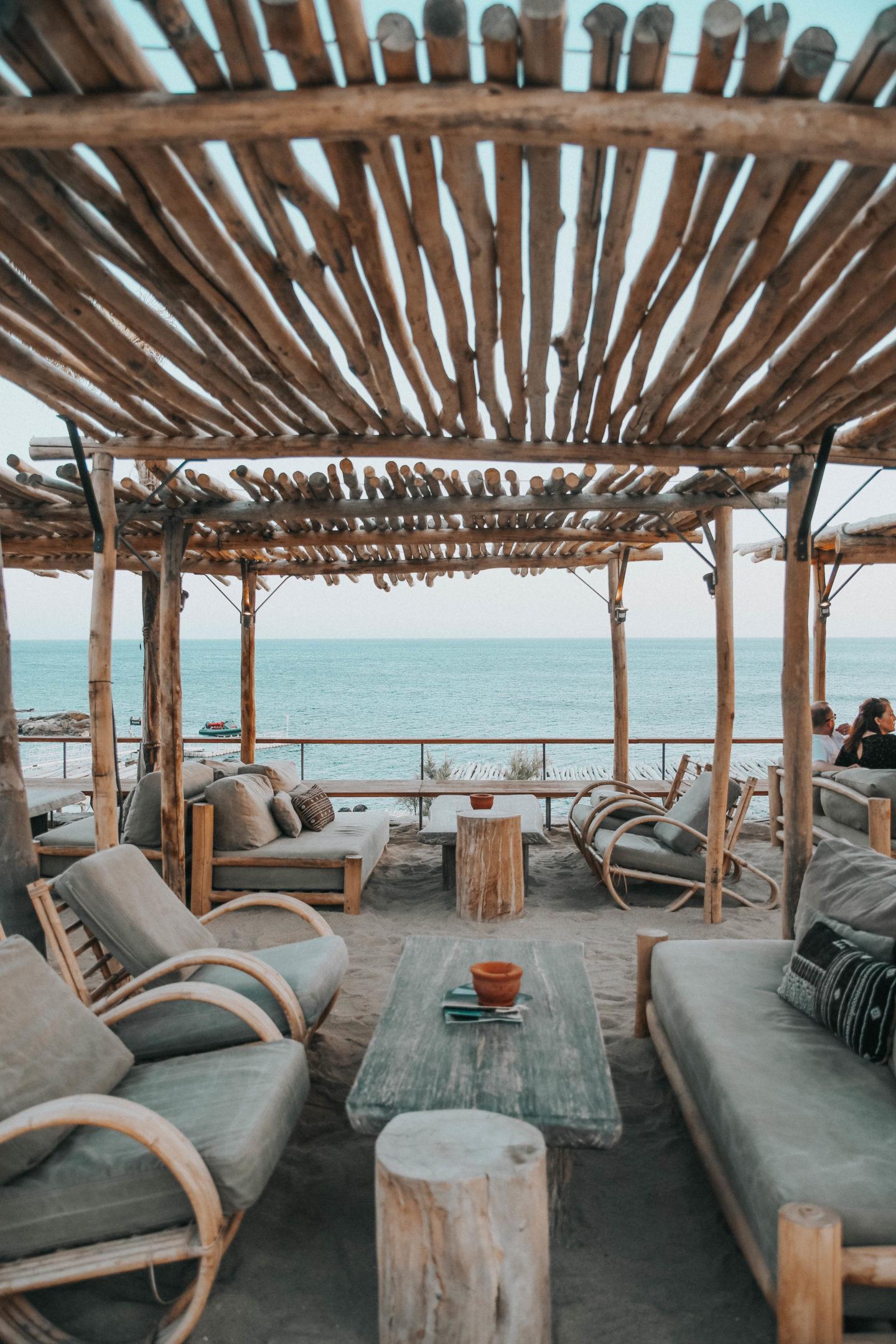 Restaurant Scorpios Mykonos - Blondie Baby blog mode et voyages