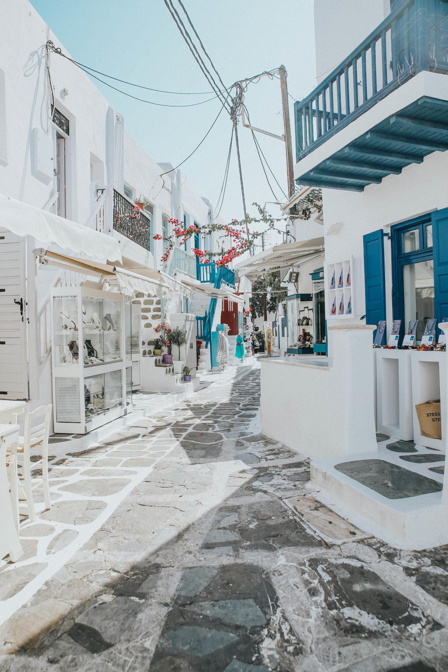 Chora, Mykonos - Blondie Baby blog mode et voyages