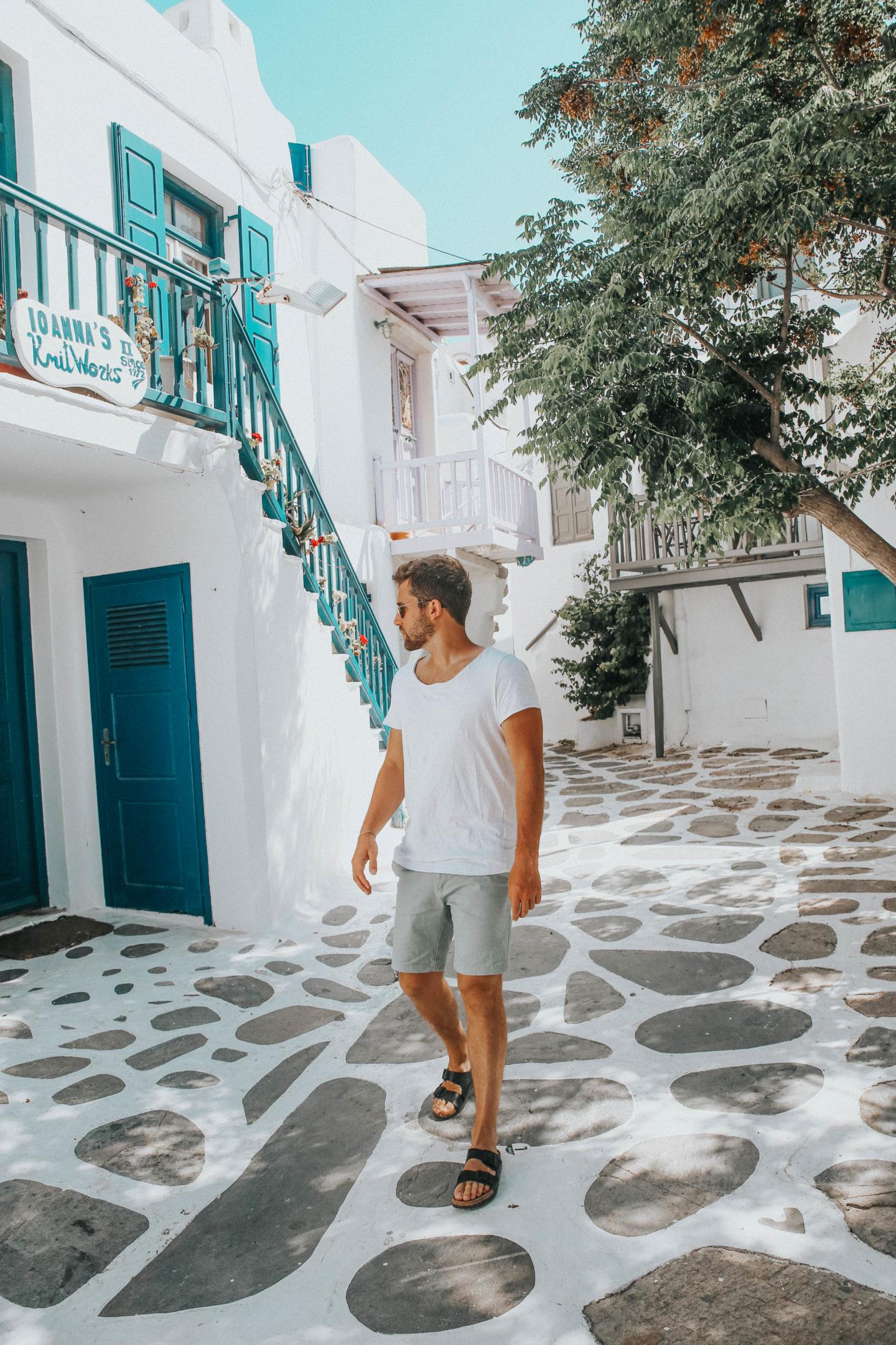 Que faire à Mykonos - Blondie Baby blog mode et voyages