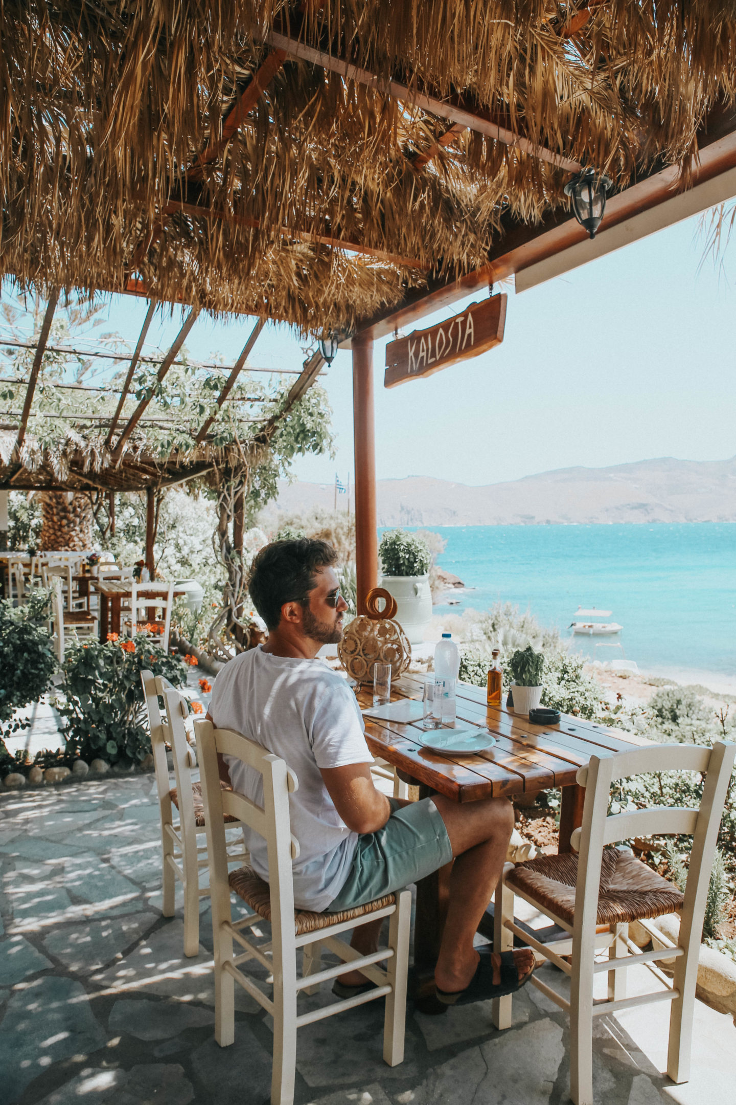 Kalosta restaurant Mykonos - Blondie Baby blog mode et voyages