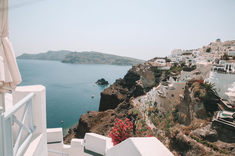 La Caldeira Santorini - Blondie Baby blog mode et voyages