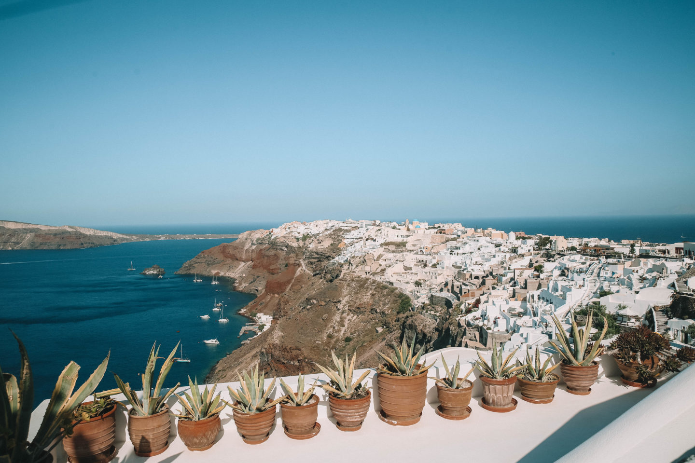 Santorini Grèce - Blondie Baby blog mode et voyages