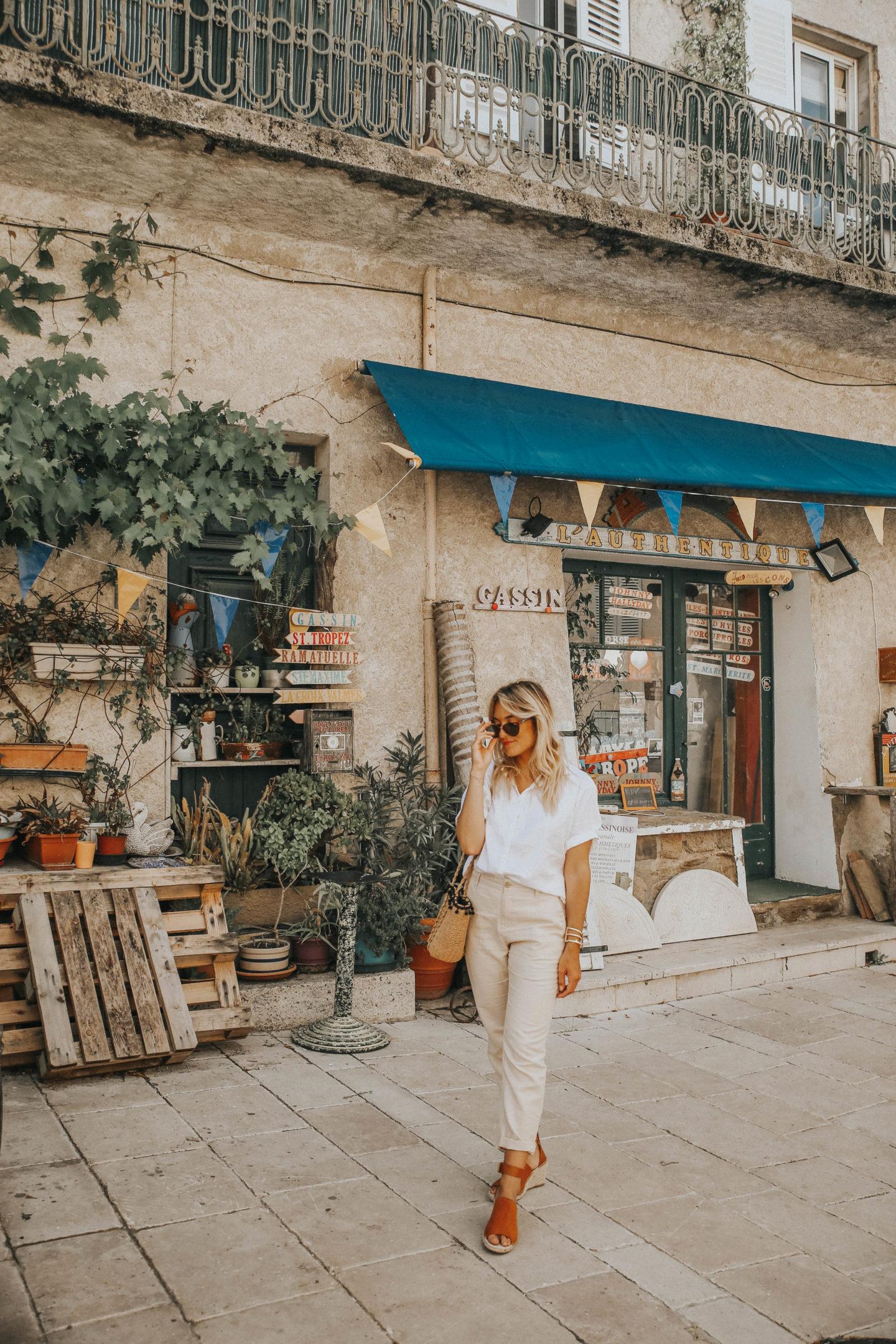 Visiter Gassin - Blondie Baby blog mode Paris et voyages