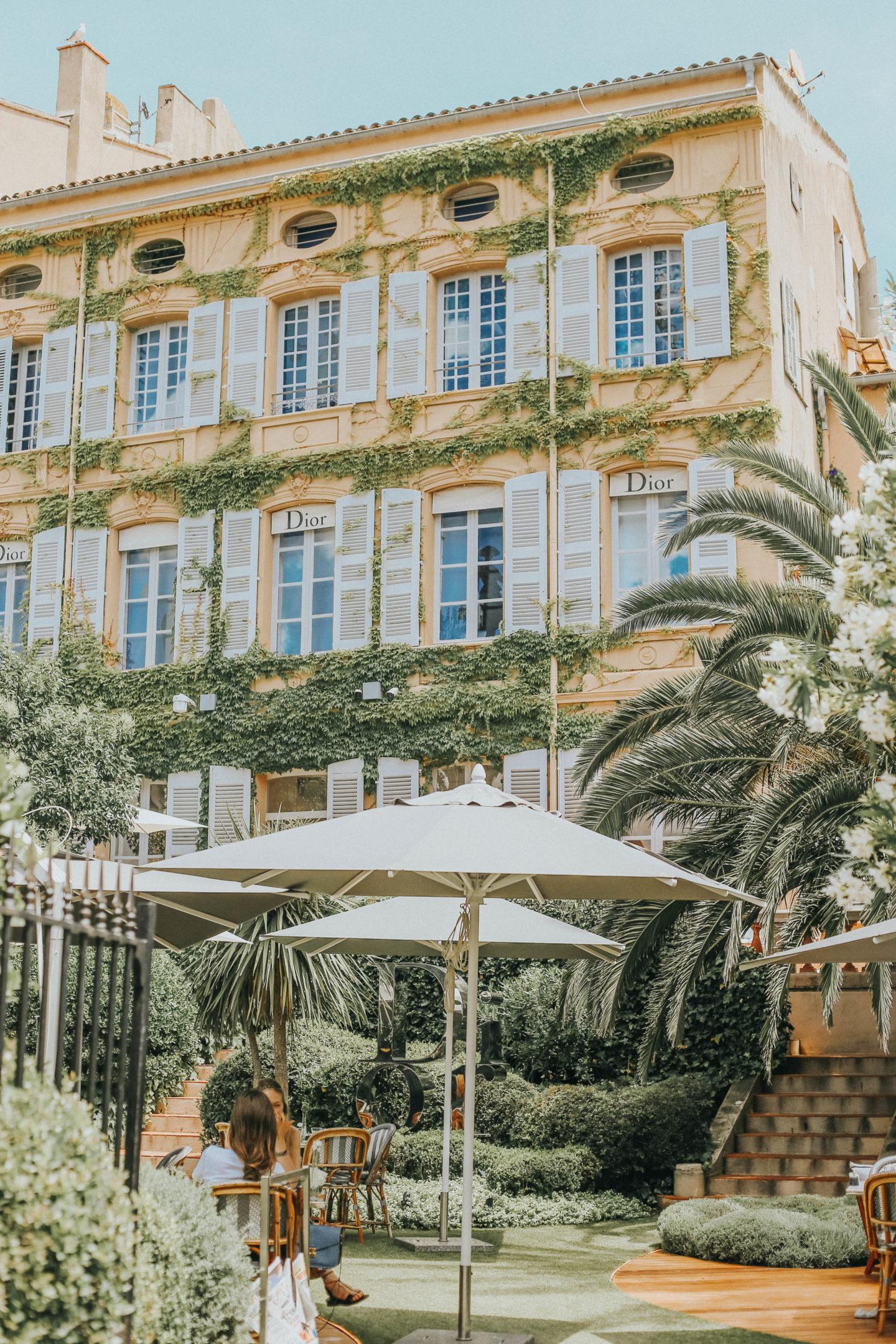 Café Dior Saint-Tropez - Blondie Baby blog mode Paris et voyages