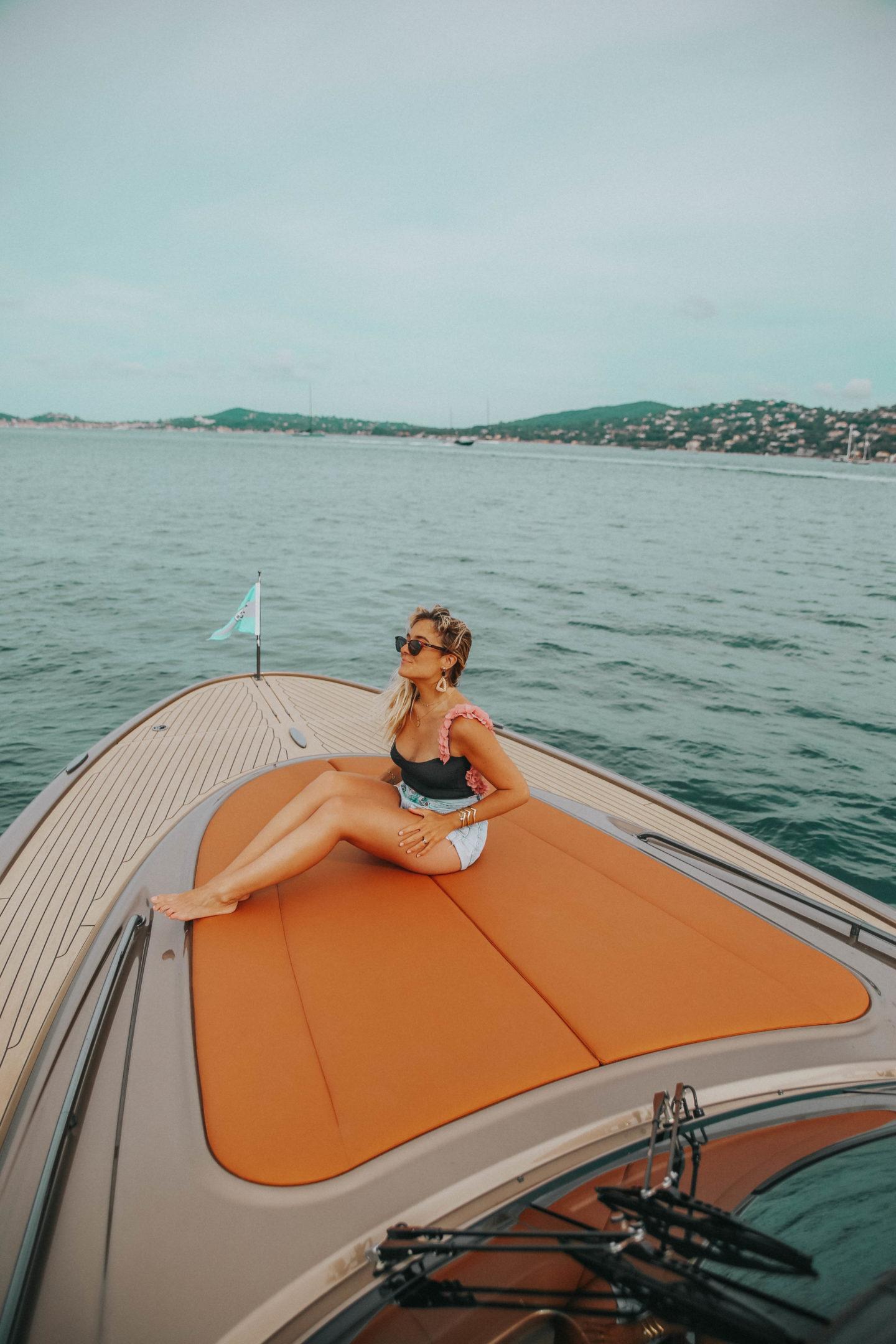 Tour de bateau Saint-Tropez - Blondie Baby blog mode Paris et voyages