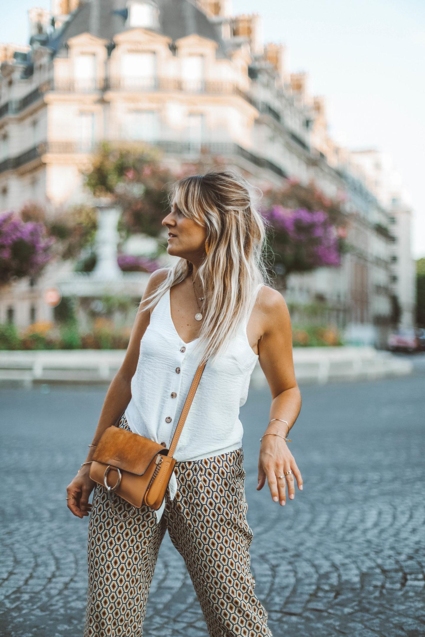 Pantalon ese O ese - Blondie Baby blog mode Paris et voyages