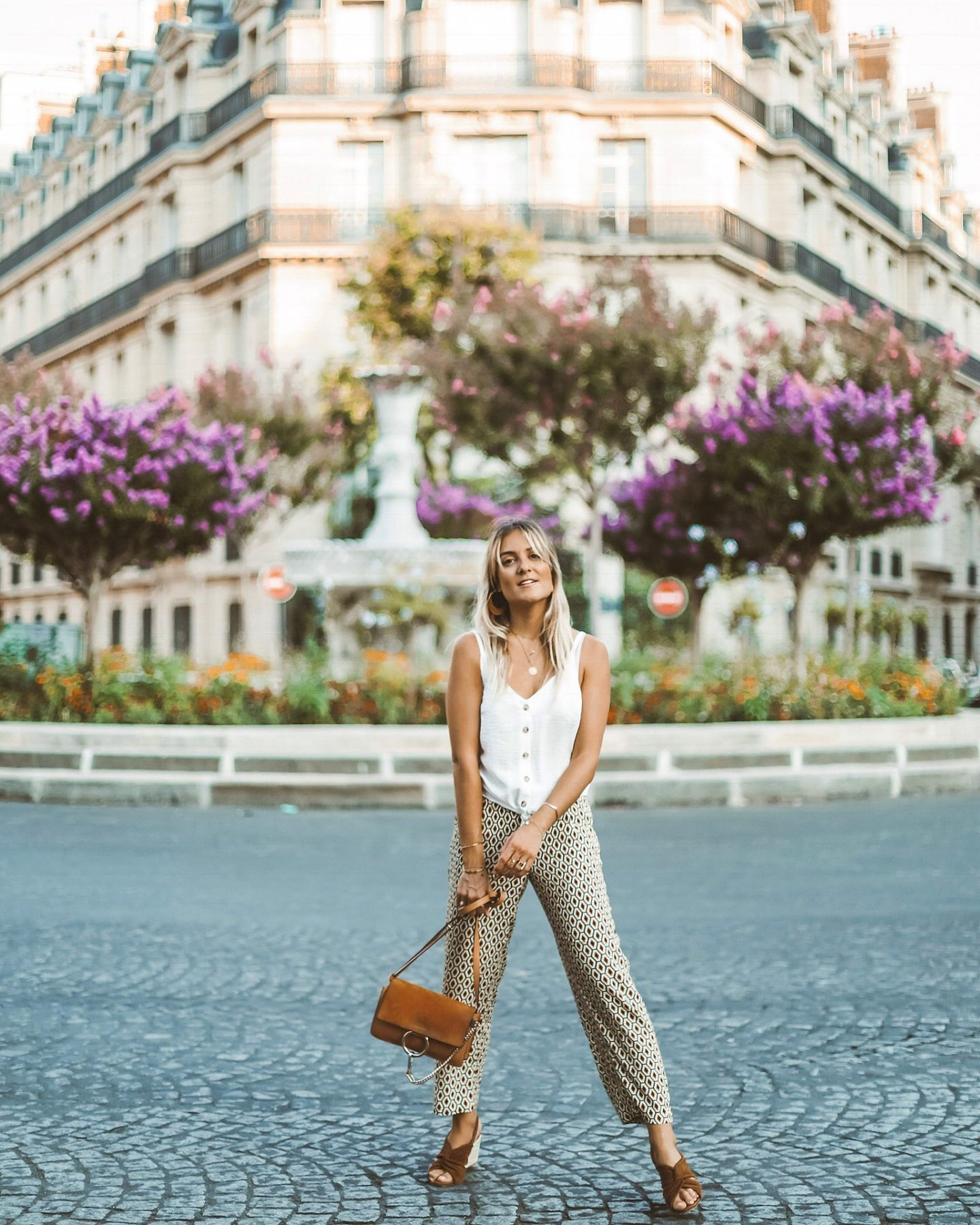 Top blanc Etam - Blondie Baby blog mode Paris et voyages