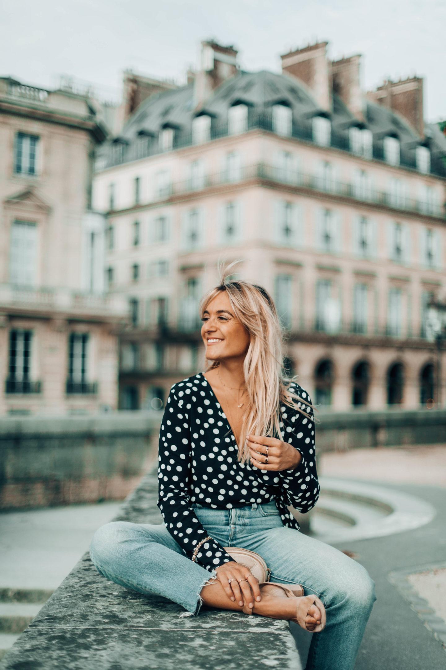 Sac vintage Chanel - Blondie Baby blog mode Paris et voyages