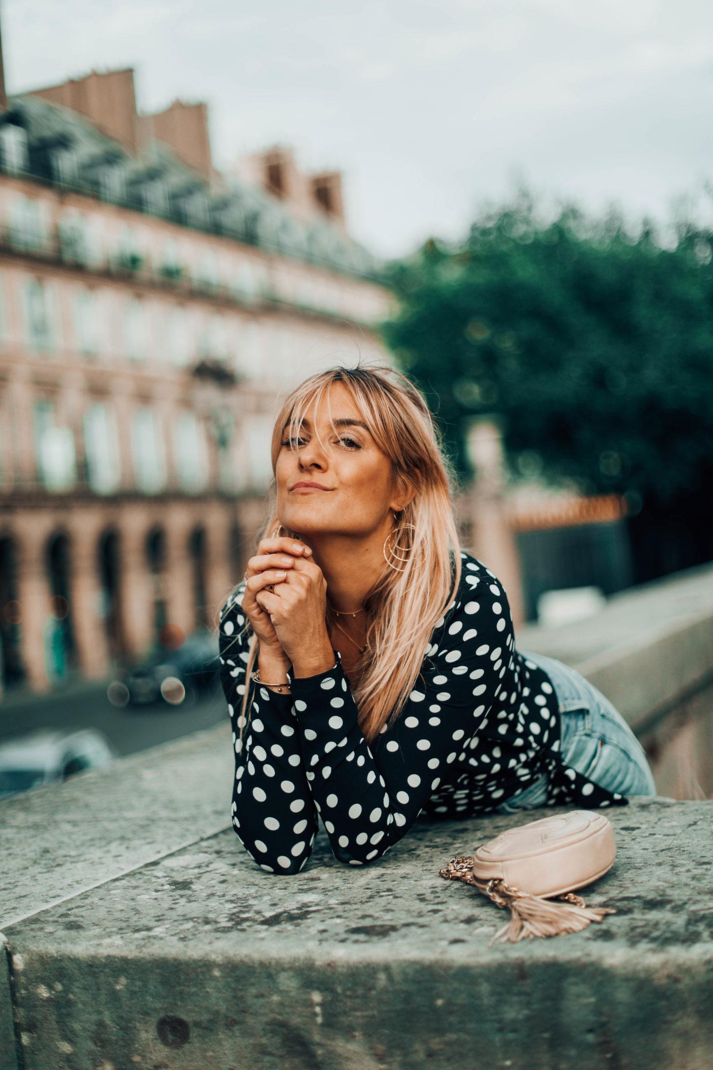 Boucles d'oreilles BDM Studio - Blondie Baby blog mode Paris et voyages