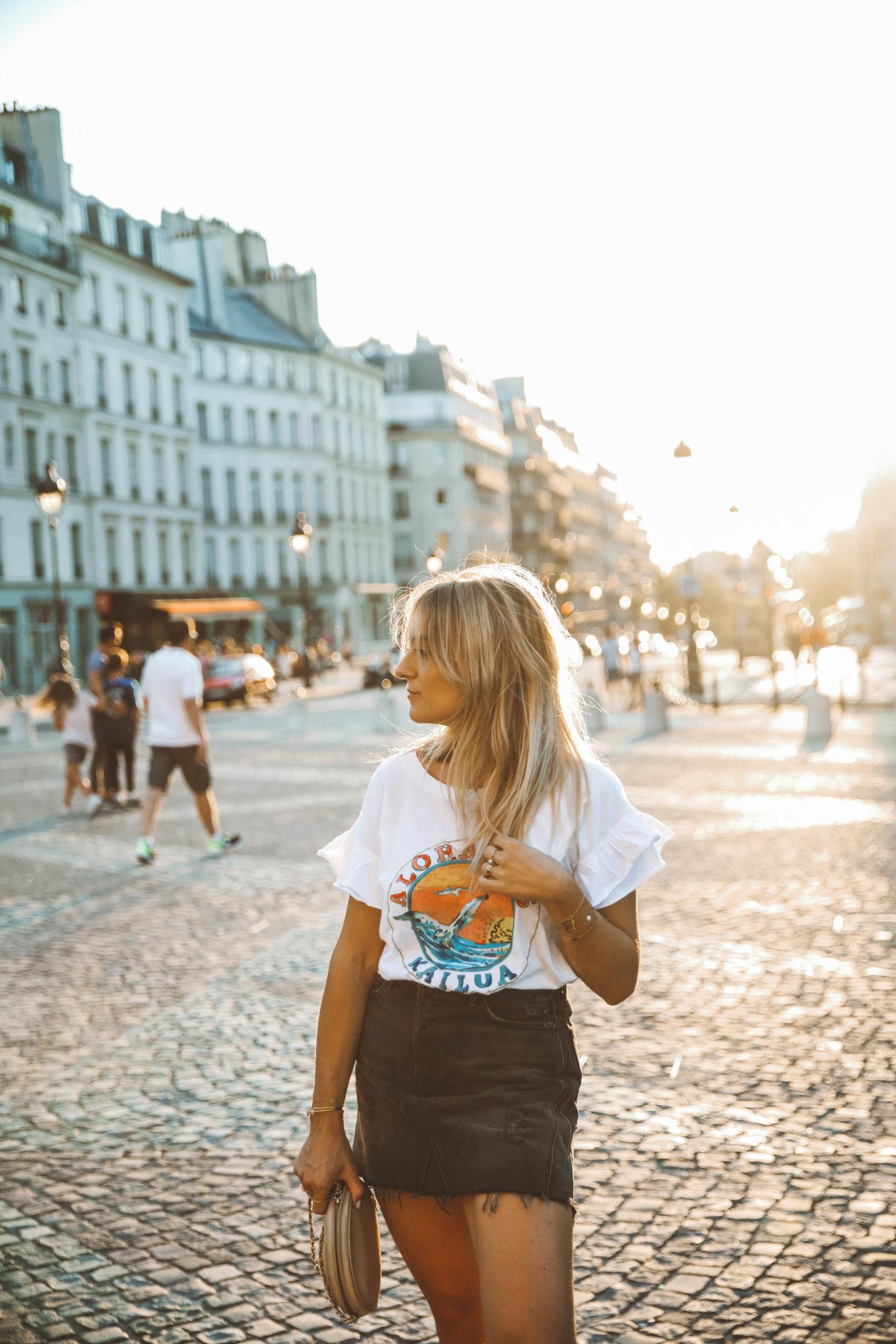 T-shirt Leon and Harper - Blondie Baby blog mode Paris et voyages