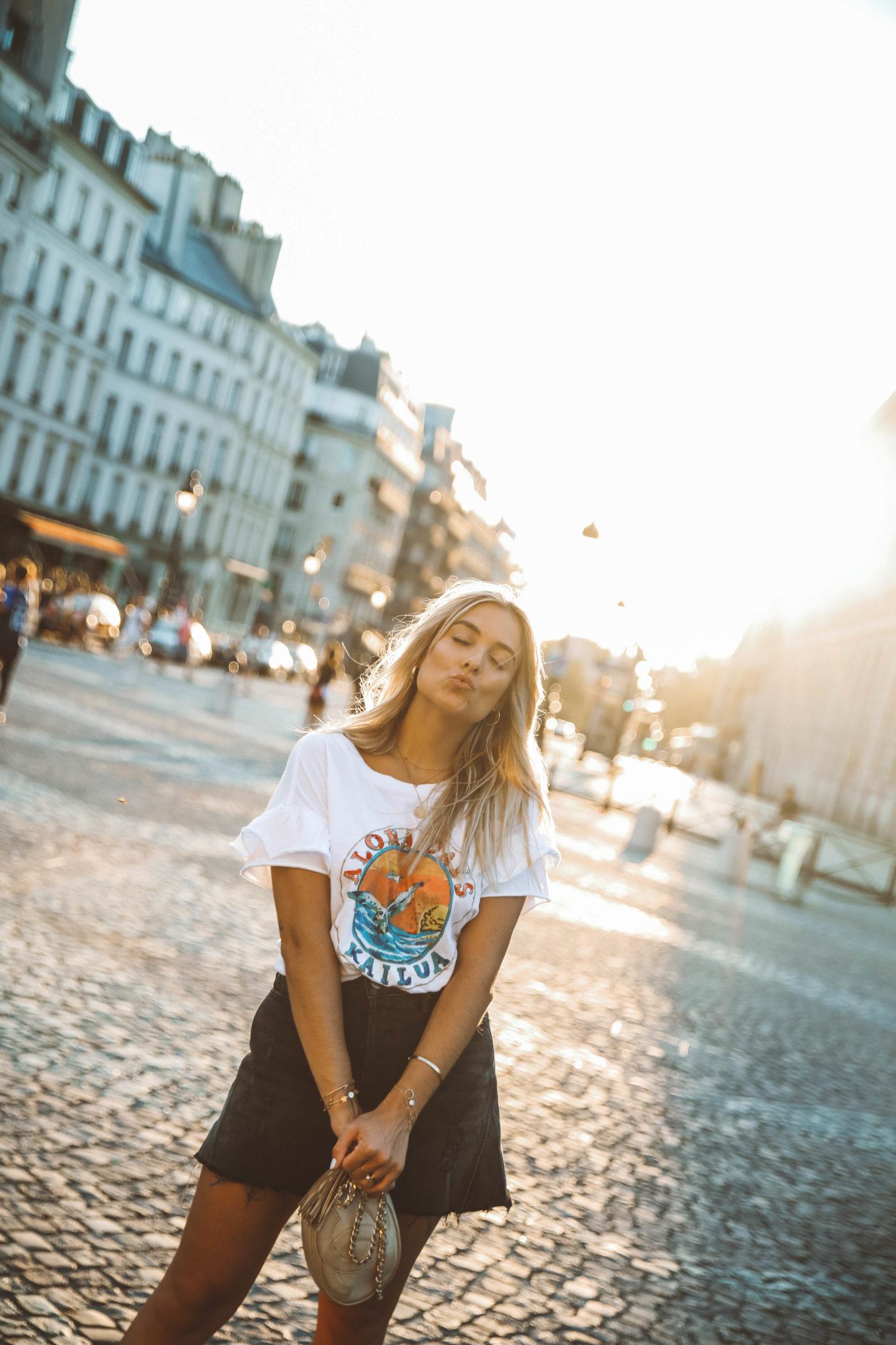 Jupe Revolve Clothing - Blondie Baby blog mode Paris et voyages