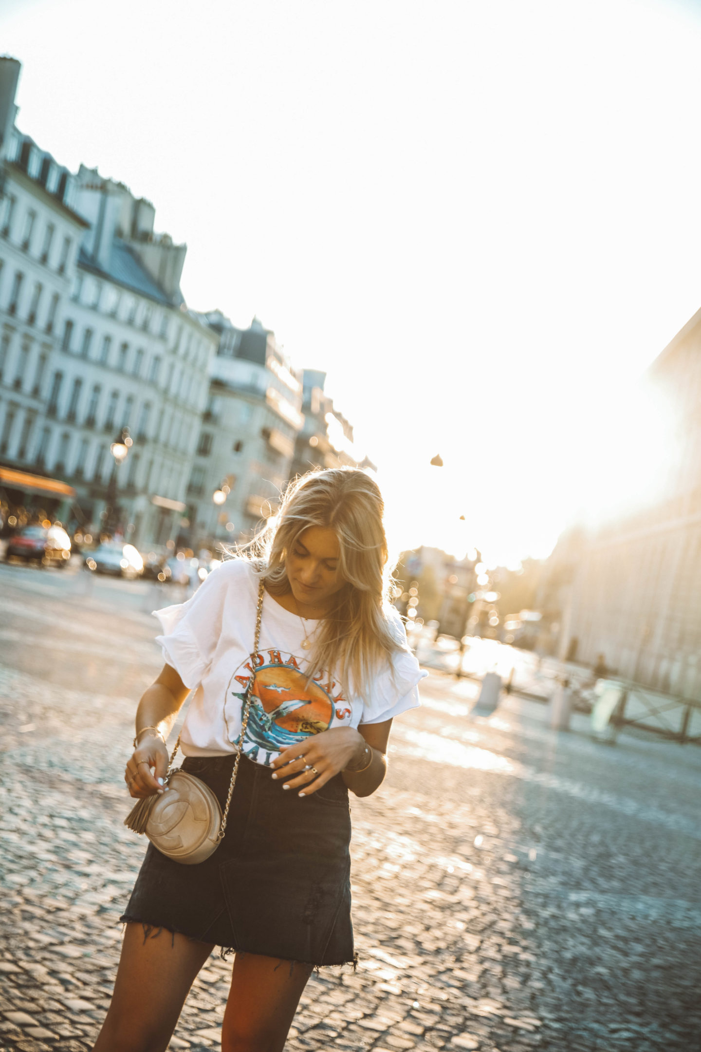 Sac Chanel vintage - Blondie Baby blog mode Paris et voyages