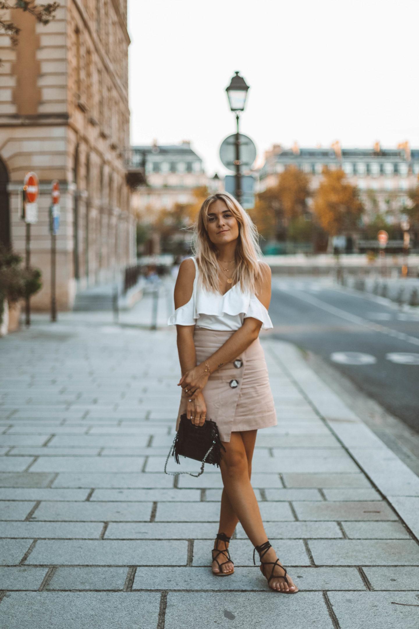 Look d'été - Blondie baby blog mode Paris et voyages