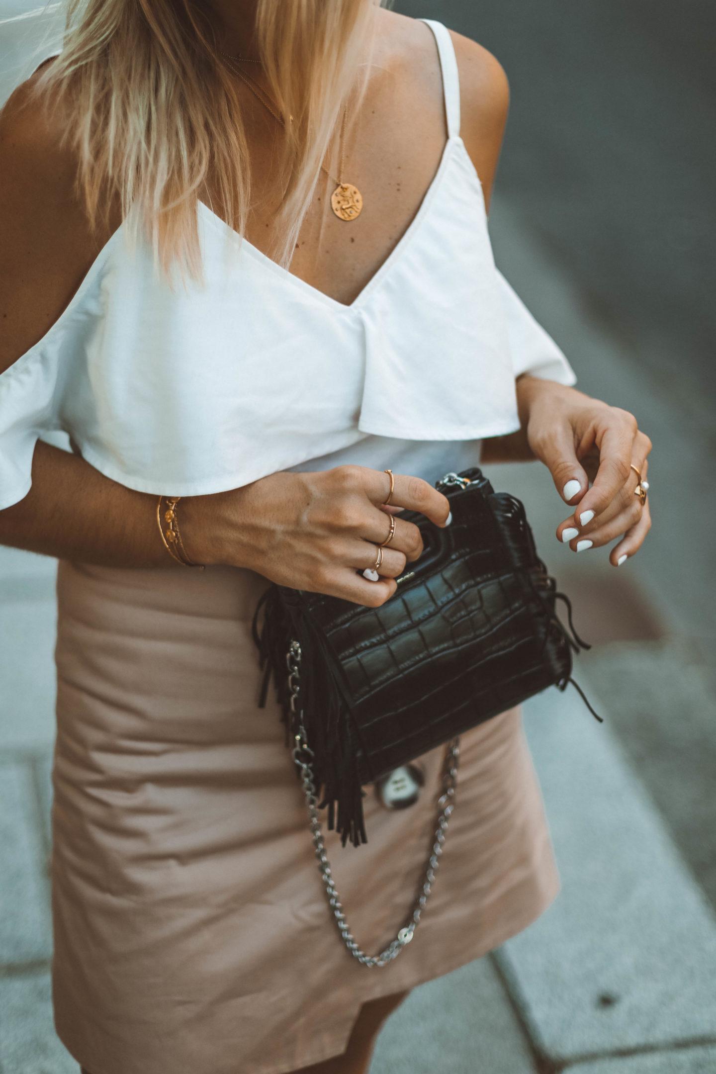 Sac Maje M Mini - Blondie baby blog mode Paris et voyages
