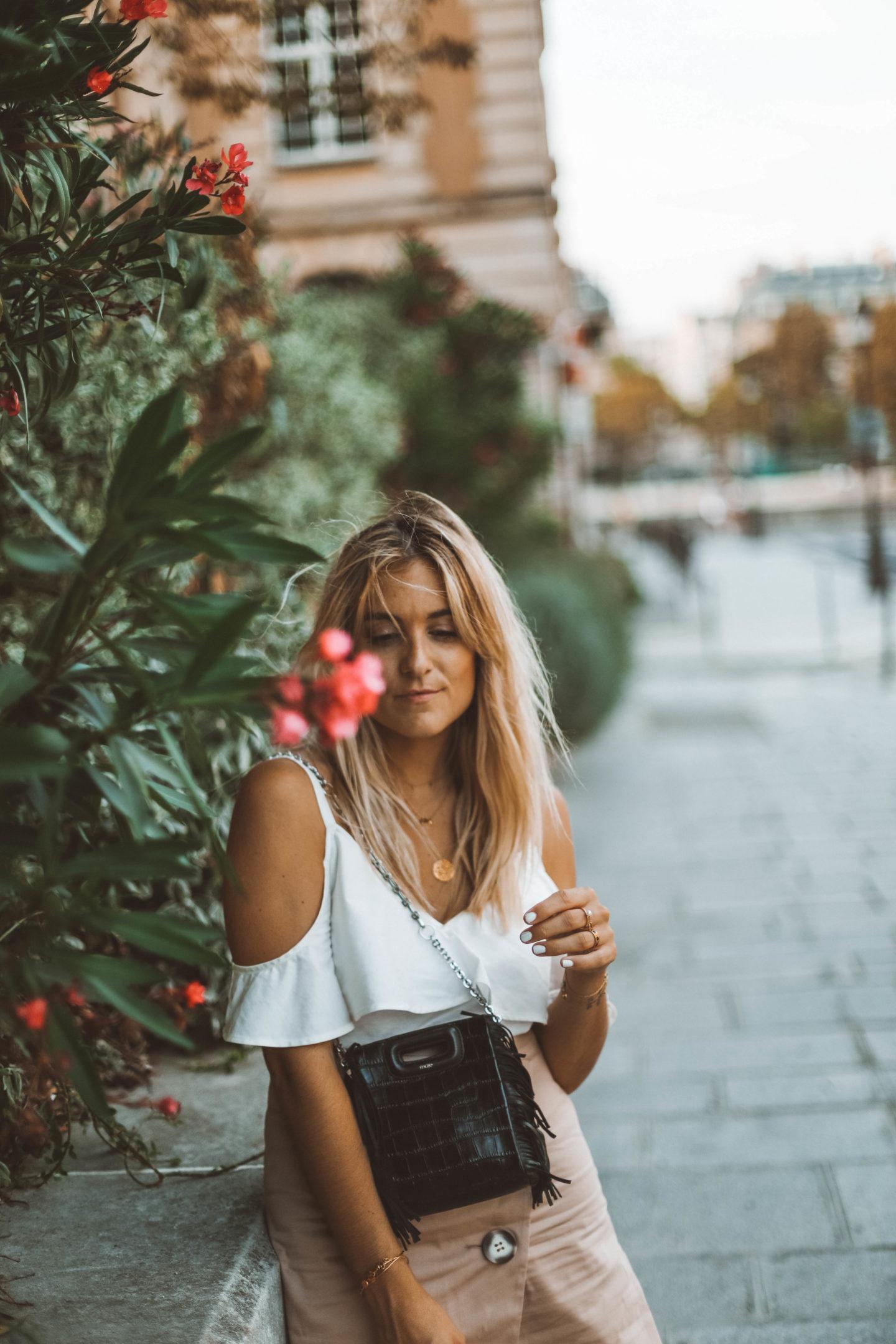 Collier Maje - Blondie baby blog mode Paris et voyages