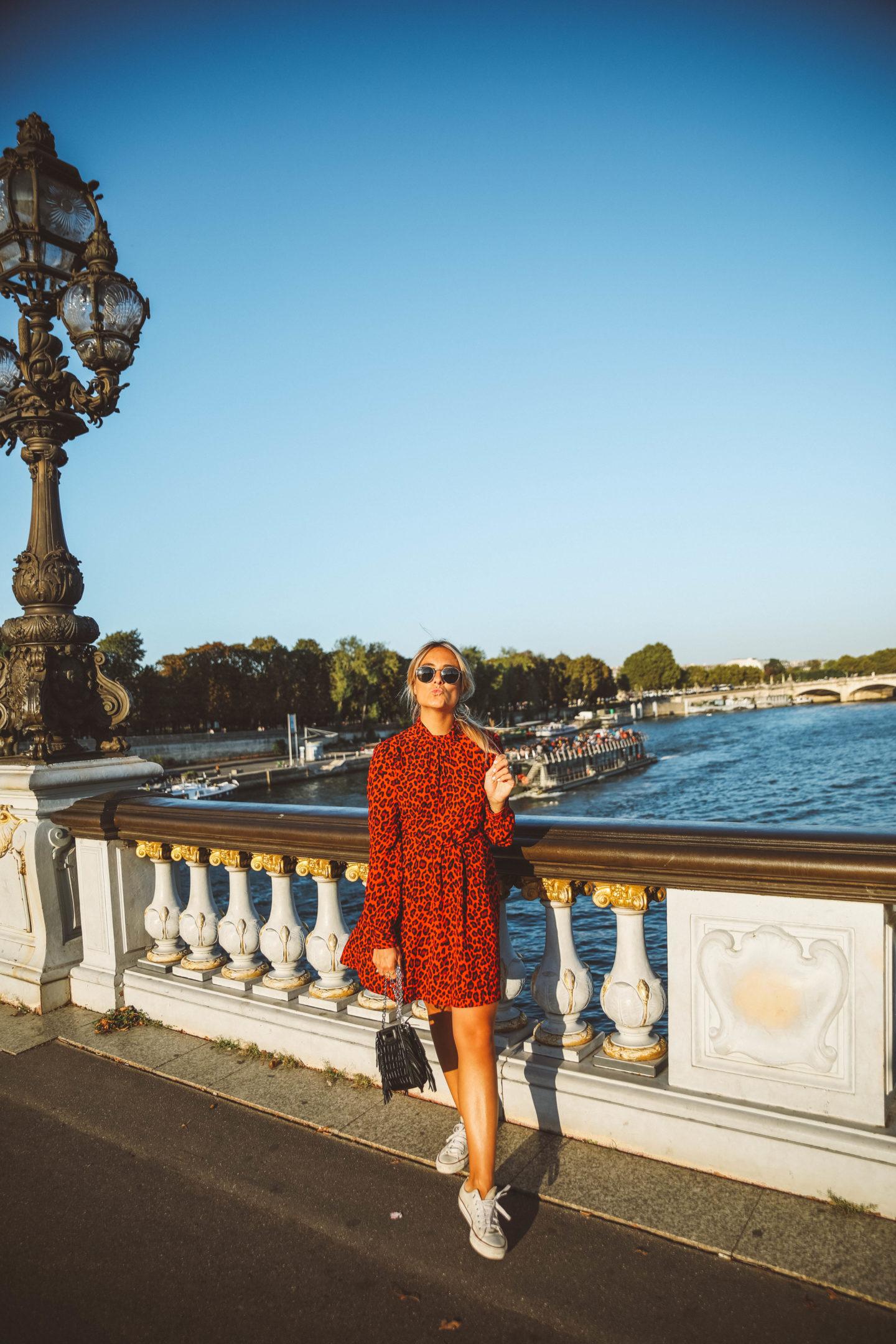 Tendance léopard - Blondie Baby blog mode Paris et voyages