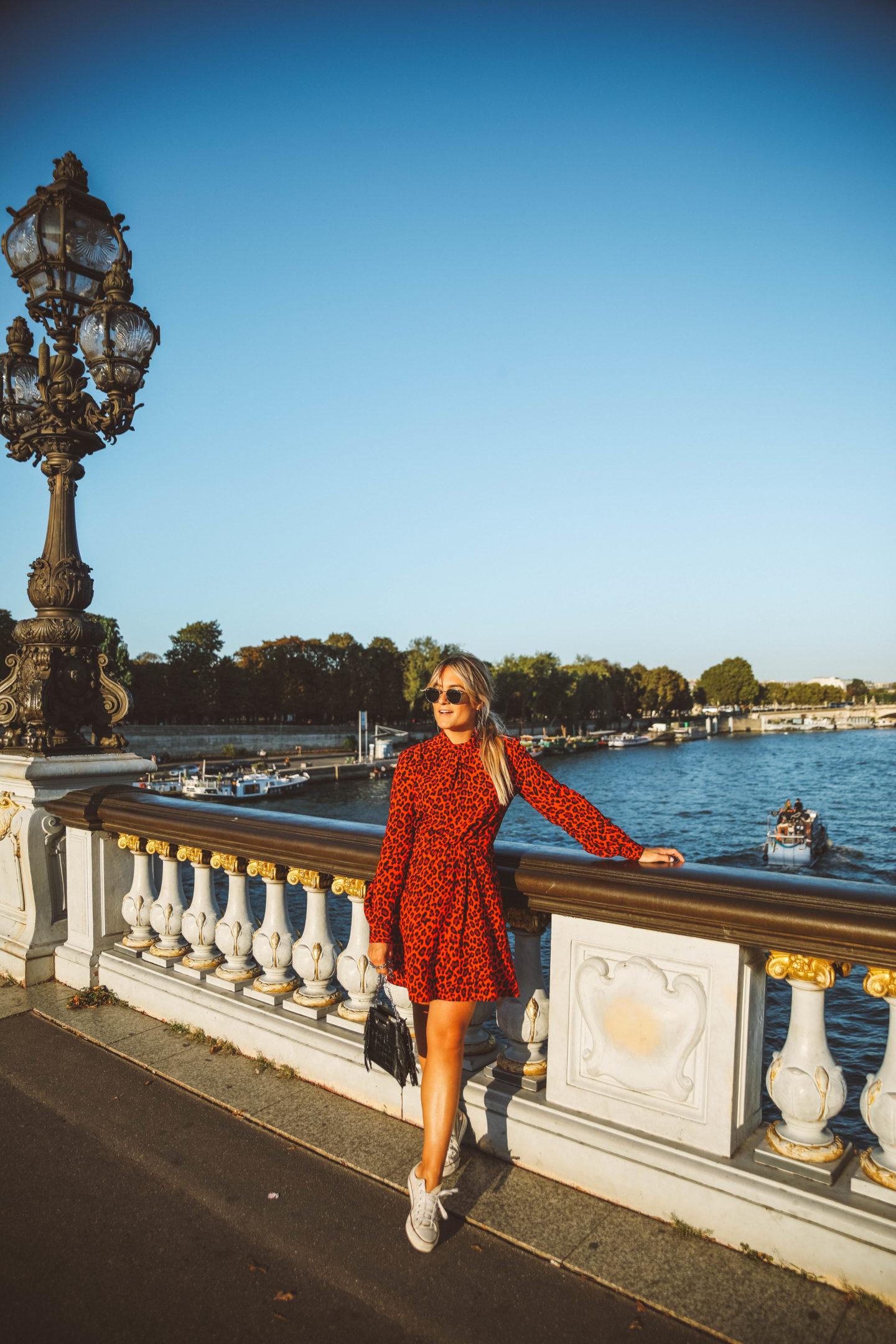 Robe Idano Paris - Blondie Baby blog mode Paris et voyages