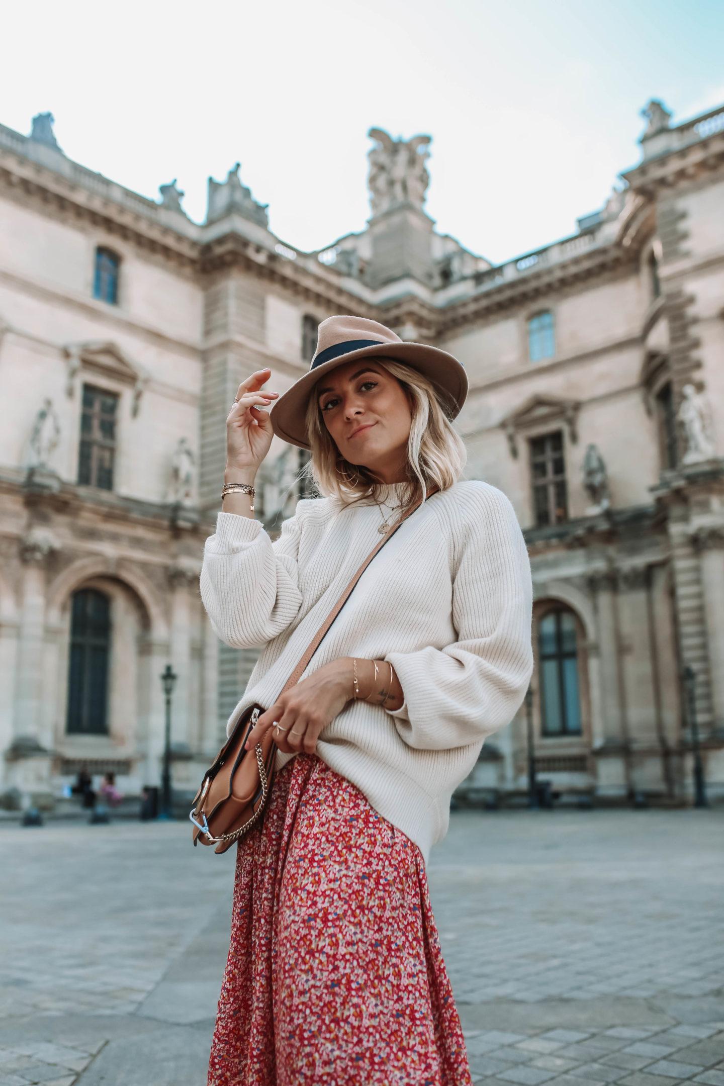 Pull oversize Mango - Blondie Baby blog mode Paris et voyages