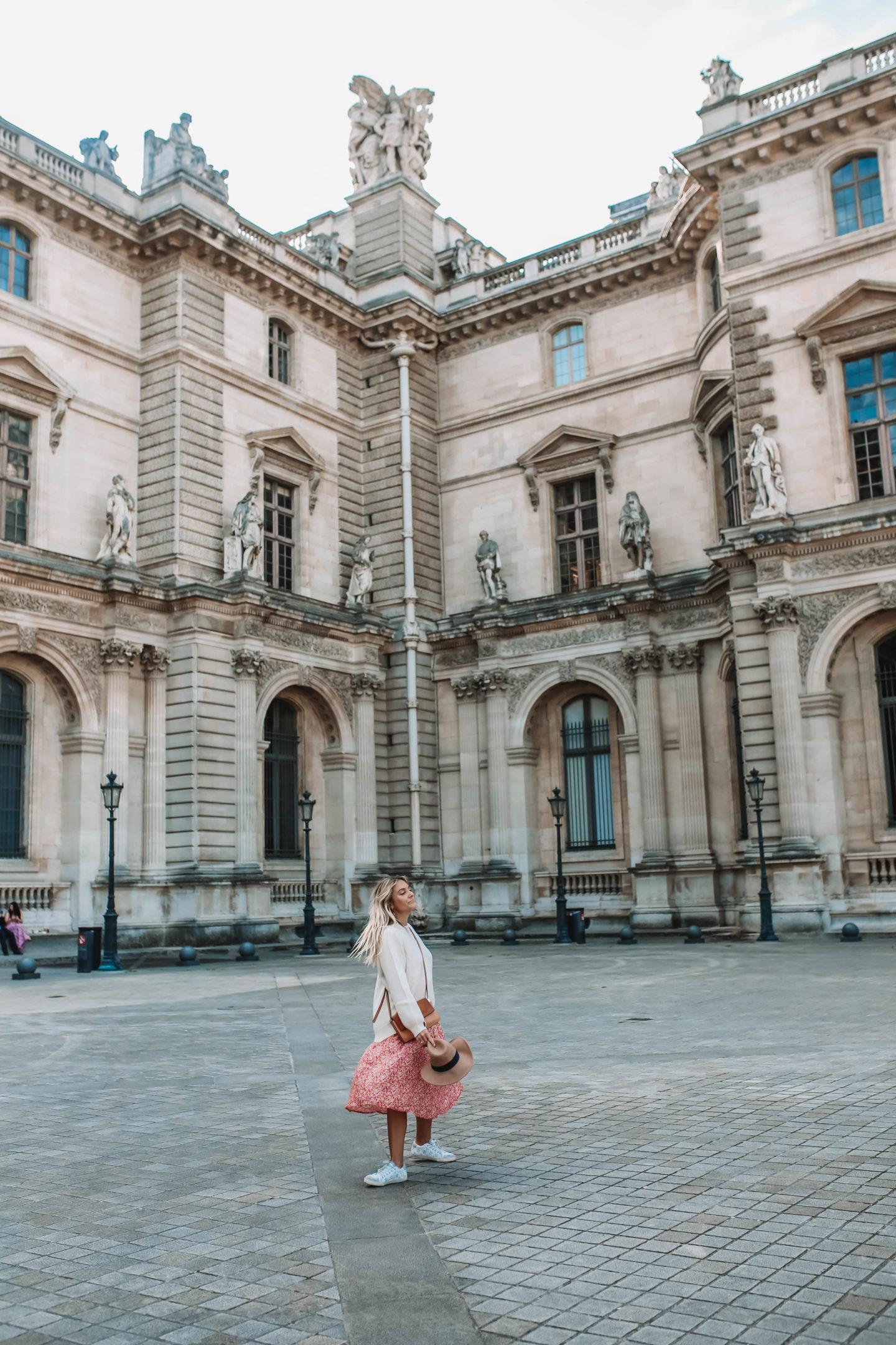 Le louvre Paris - Blondie Baby blog mode Paris et voyages