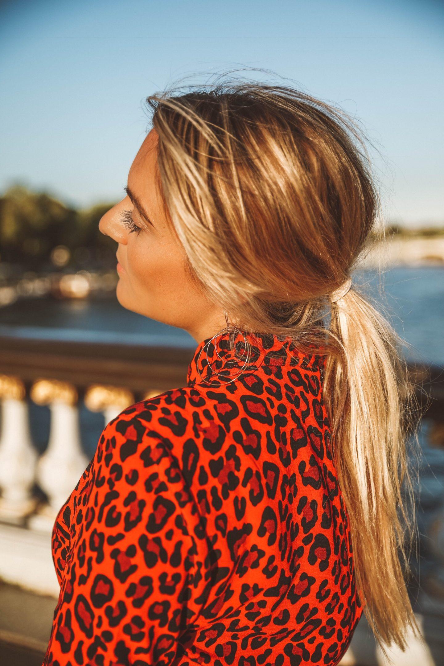 Imprimé léopard - Blondie Baby blog mode Paris et voyages