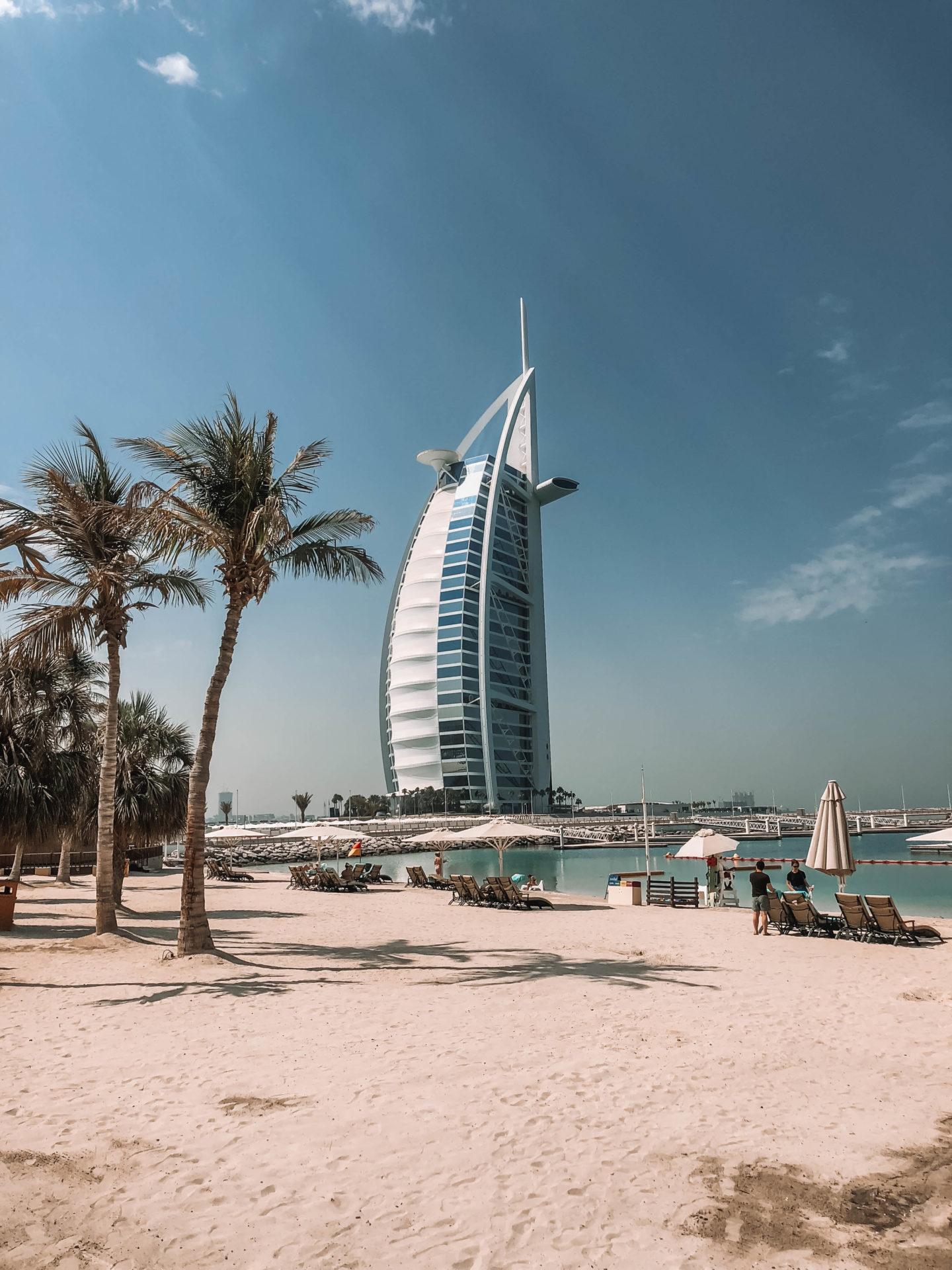 Burj El Arab Dubaï - Blondie Baby blog mode et voyages
