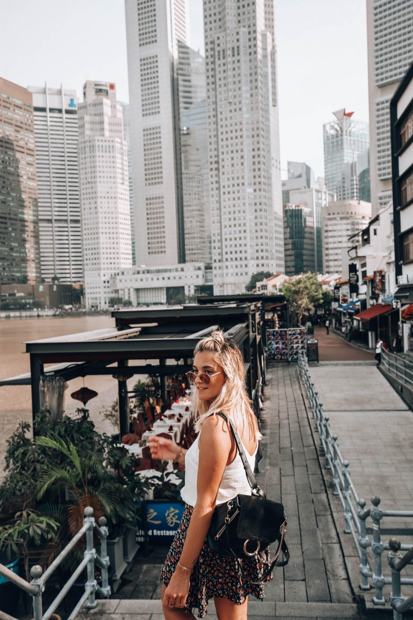 Boat Quay Singapour - Blondie Baby blog mode Paris et voyages