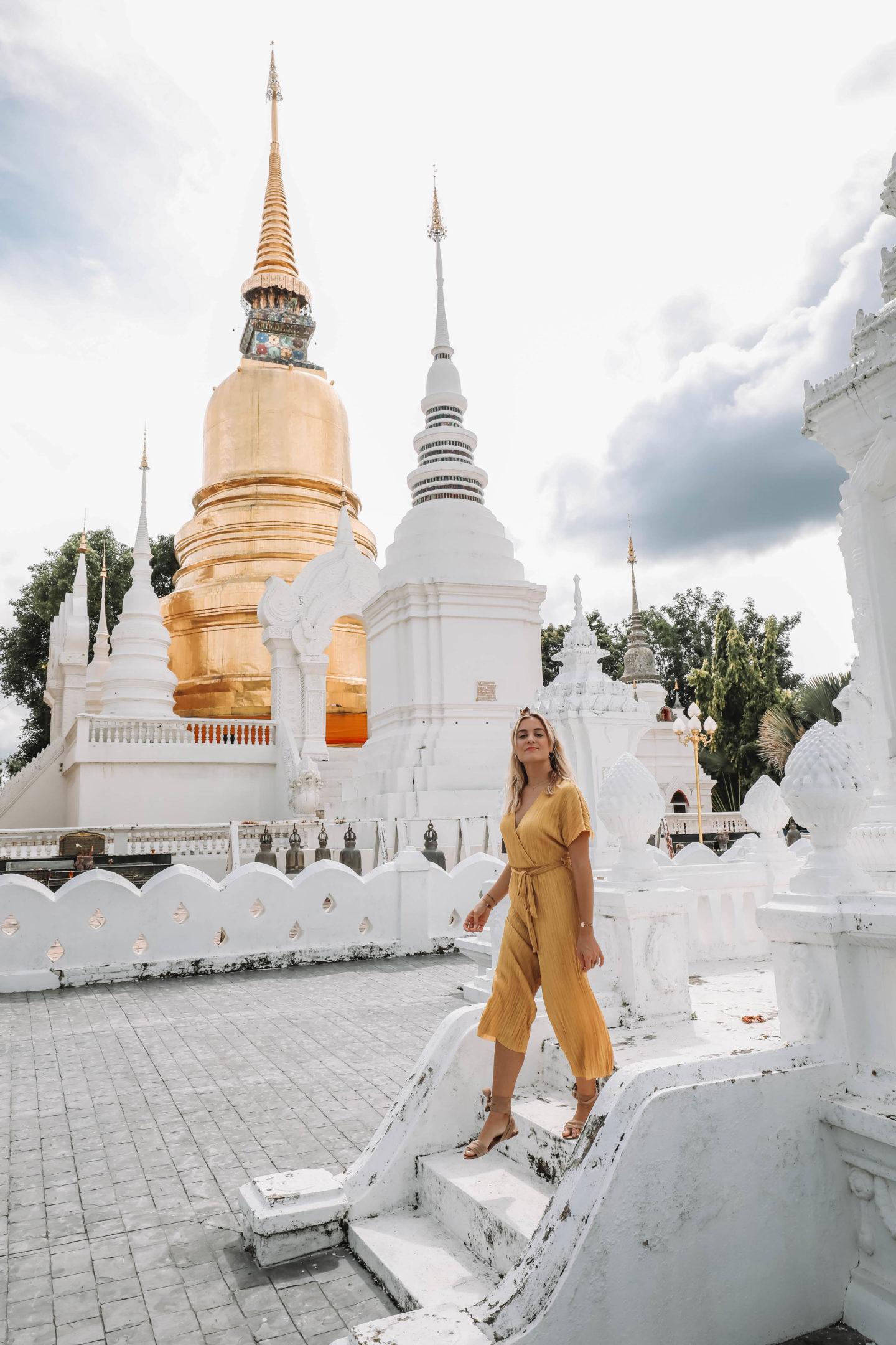 Temple Wat Suan Dok Chiang Mai - Blondie Baby blog mode et voyages