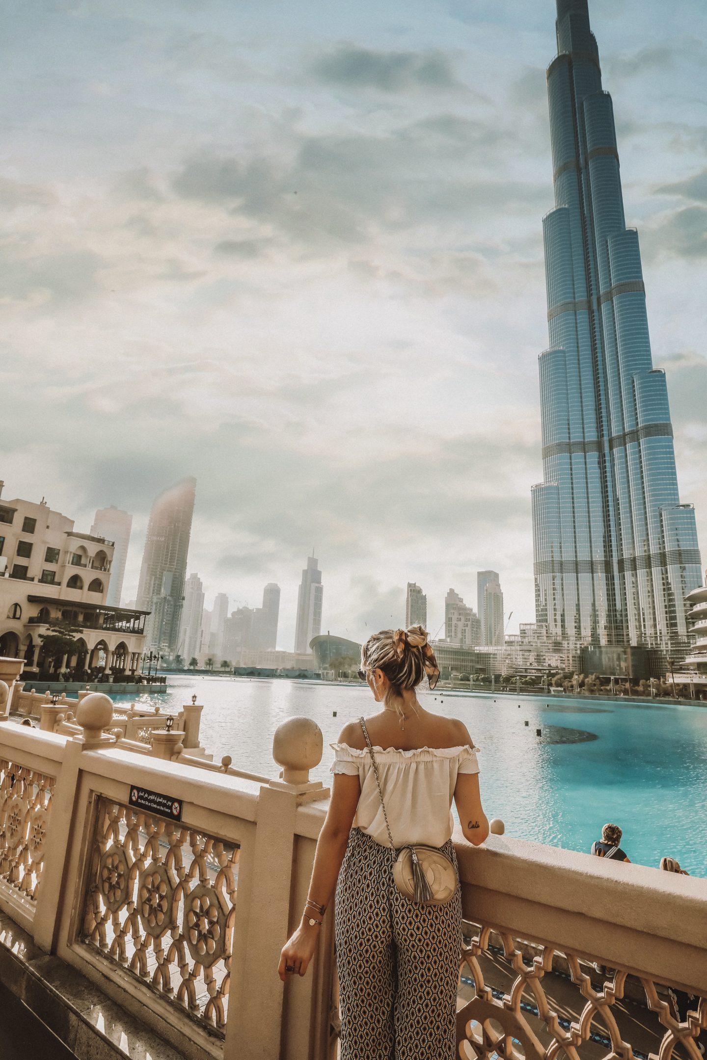 Burj el Araj Dubaï - Blondie Baby blog mode et voyages