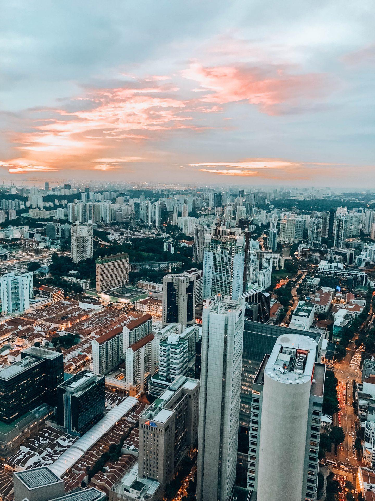 Rooftop Singapour - Blondie Baby blog mode Paris et voyages