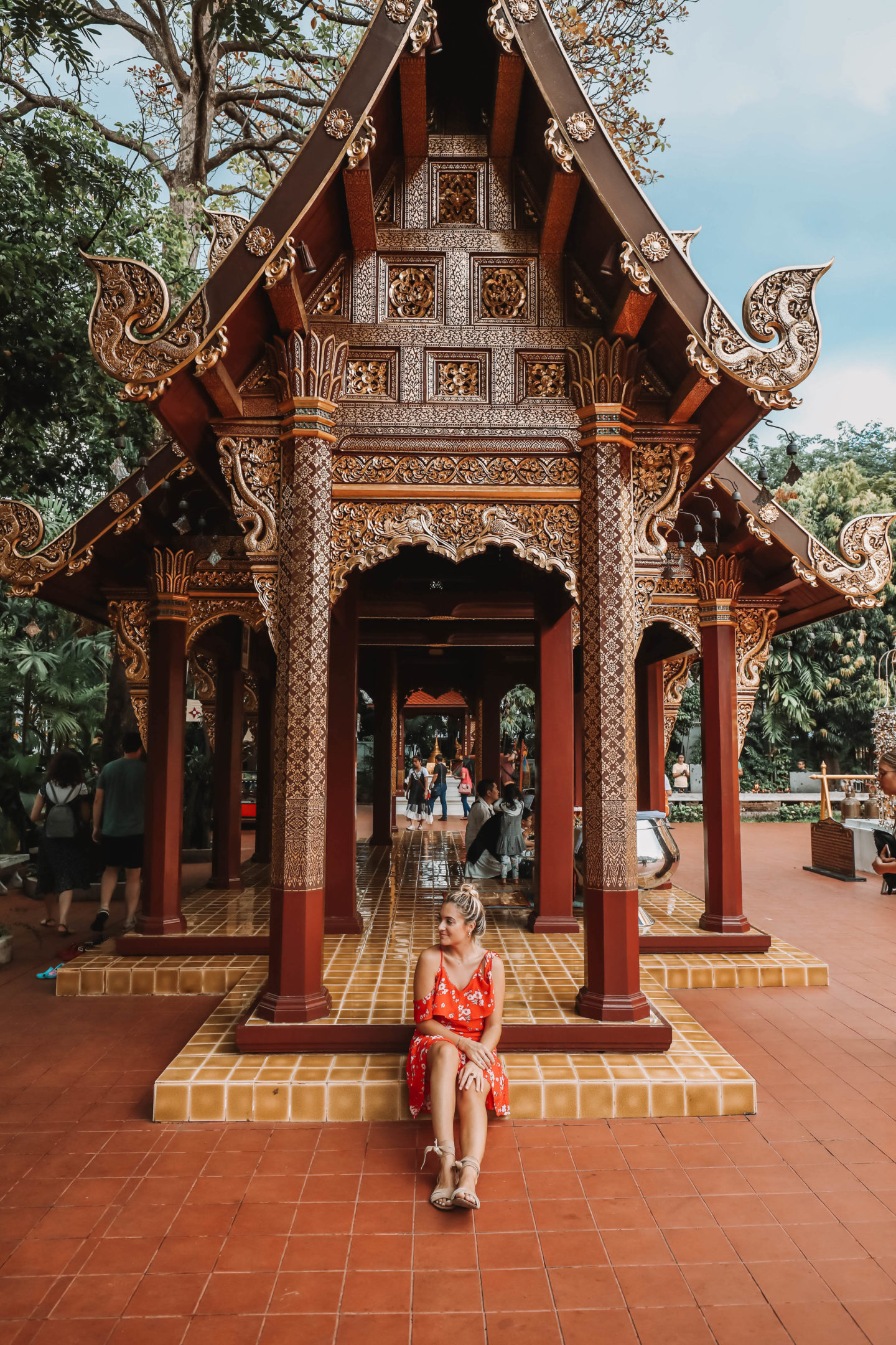 Temples Chiang Mai - Blondie Baby blog mode et voyages