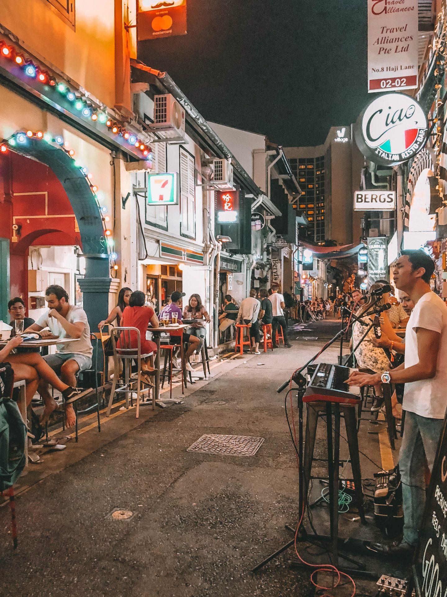 Haji Lane Singapour - Blondie Baby blog mode Paris et voyages