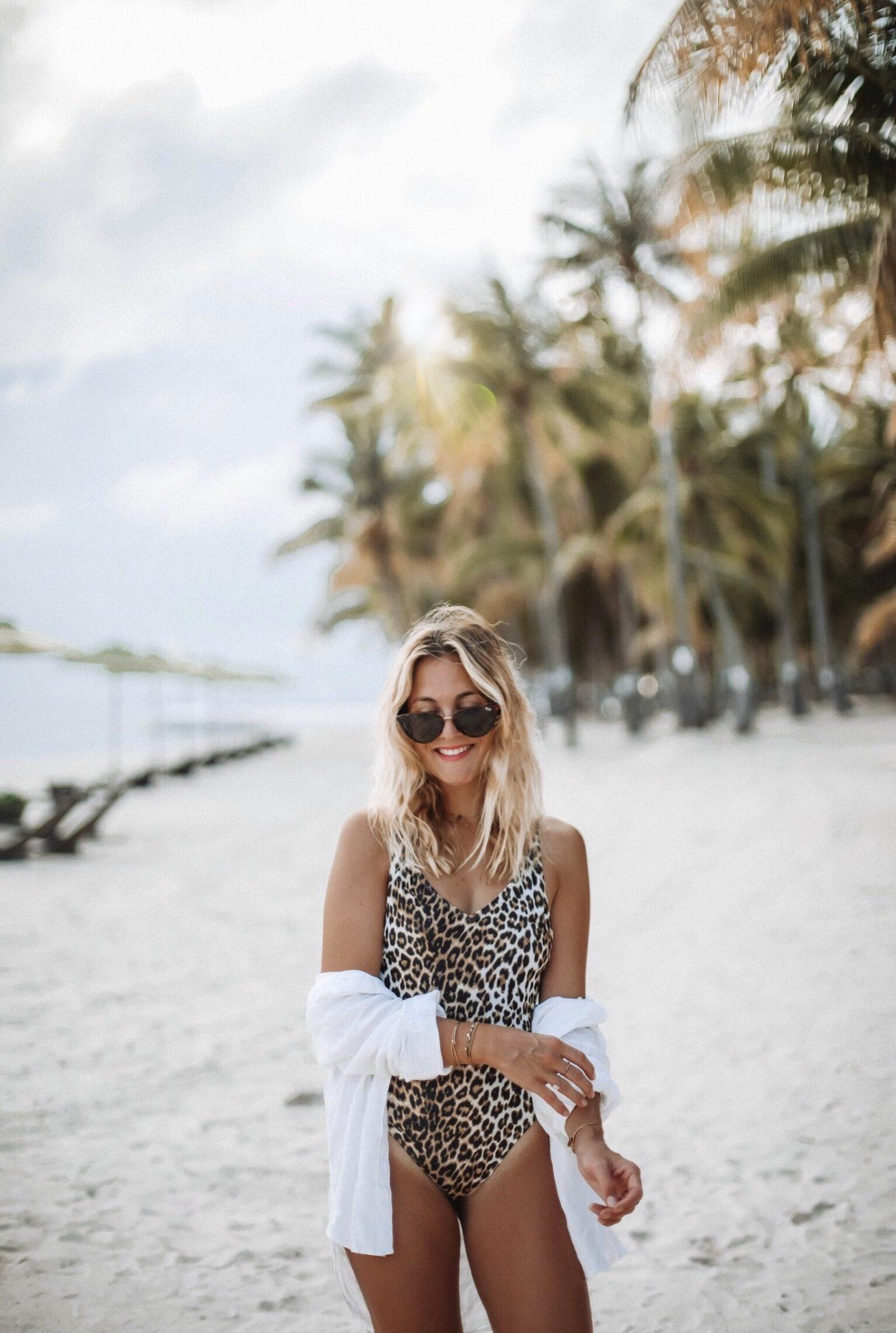 Maillot léopard h&m - Blondie Baby blog mode Paris et voyages