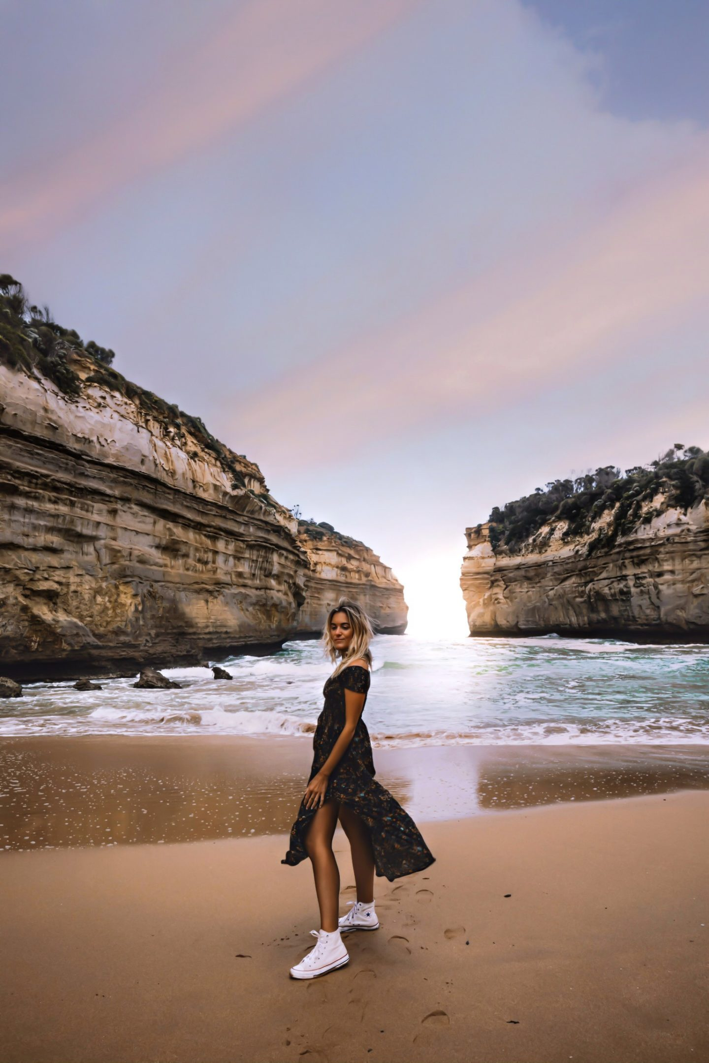 Sunset Great Ocean Road - Blondie Baby blog mode et voyages
