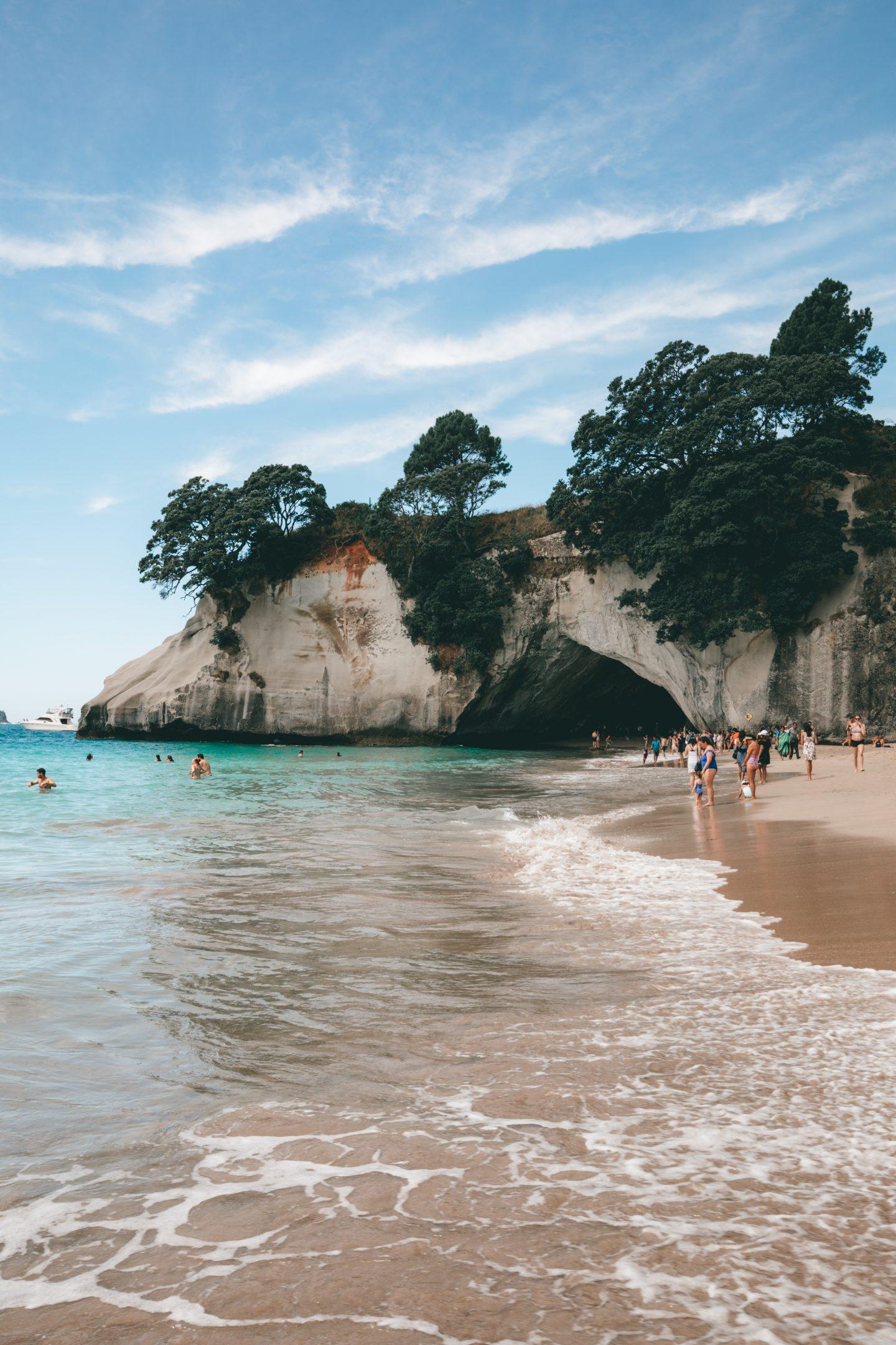 Cathedral Cove Nouvelle-Zélande - Blondie Baby blog voyages et mode