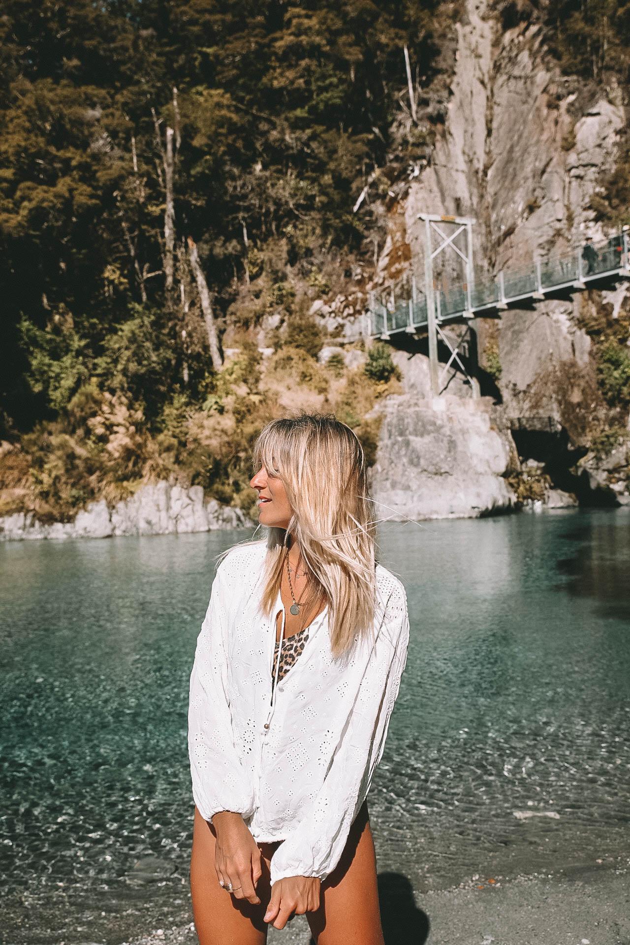 Blue Pools Nouvelle-Zélande - Blondie Baby blog voyages et mode