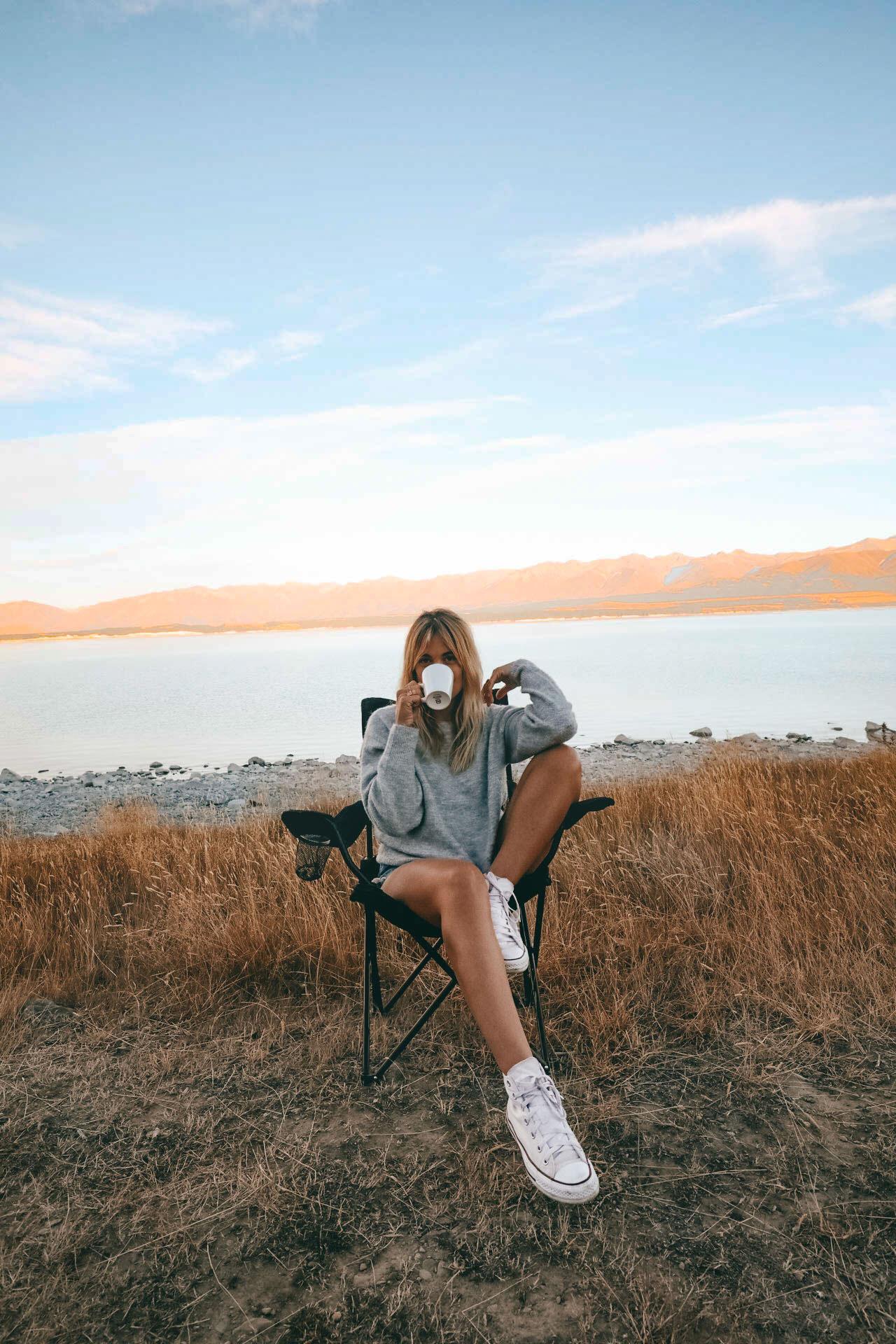 Lac Poukaki - Blondie Baby blog voyages et mode
