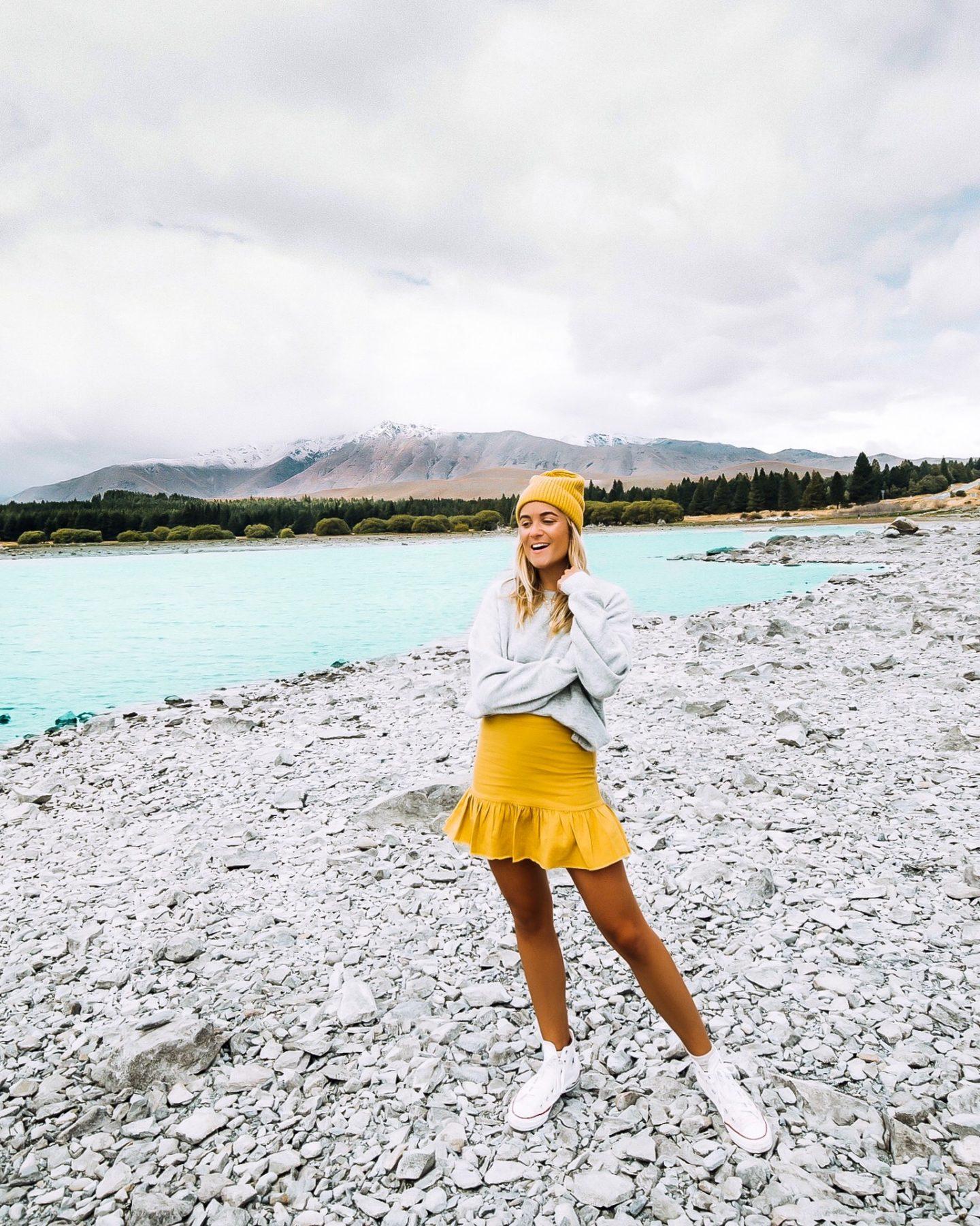 Lac Poukaki Nouvelle-Zélande - Blondie Baby blog voyages et mode