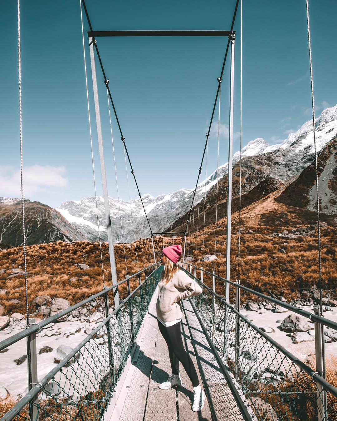 Mont Cook Nouvelle-Zélande - Blondie Baby blog voyages et mode