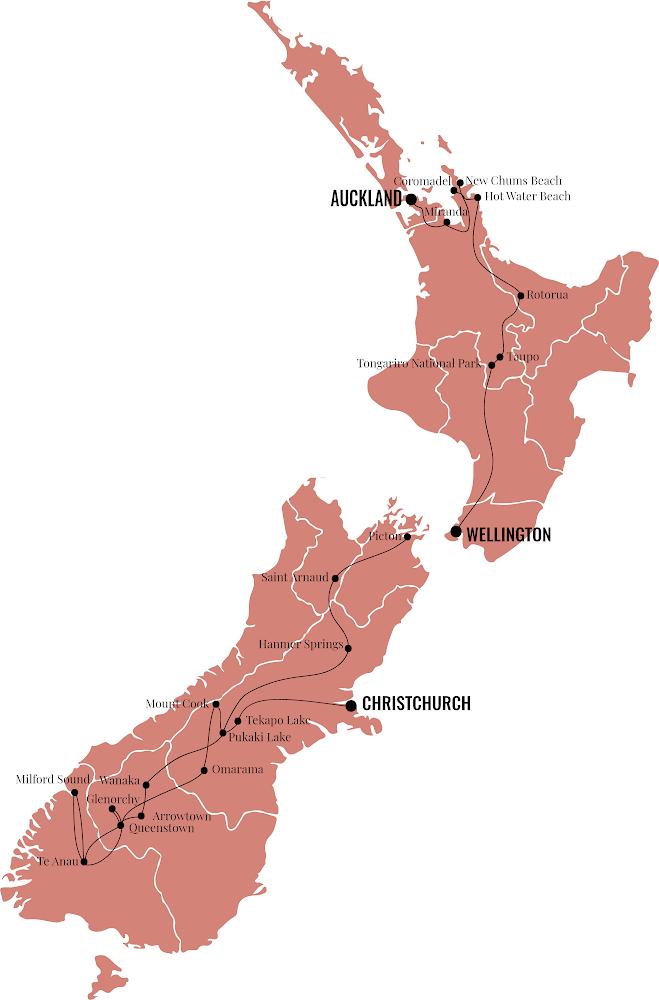 Itinéraire roadtrip Nouvelle-Zélande - Blondie Baby blog voyages et mode