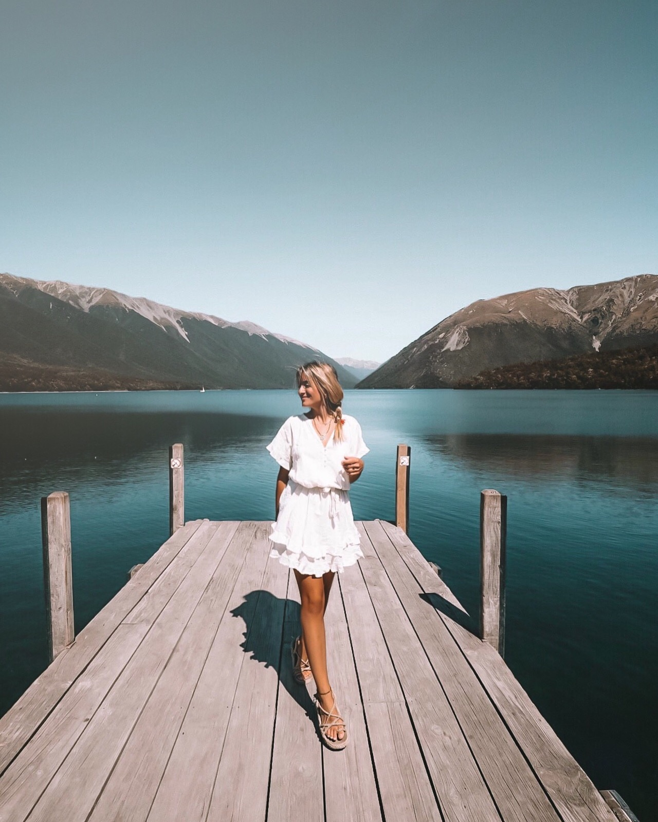 Nelson's Lakes - Blondie Baby blog voyages et mode