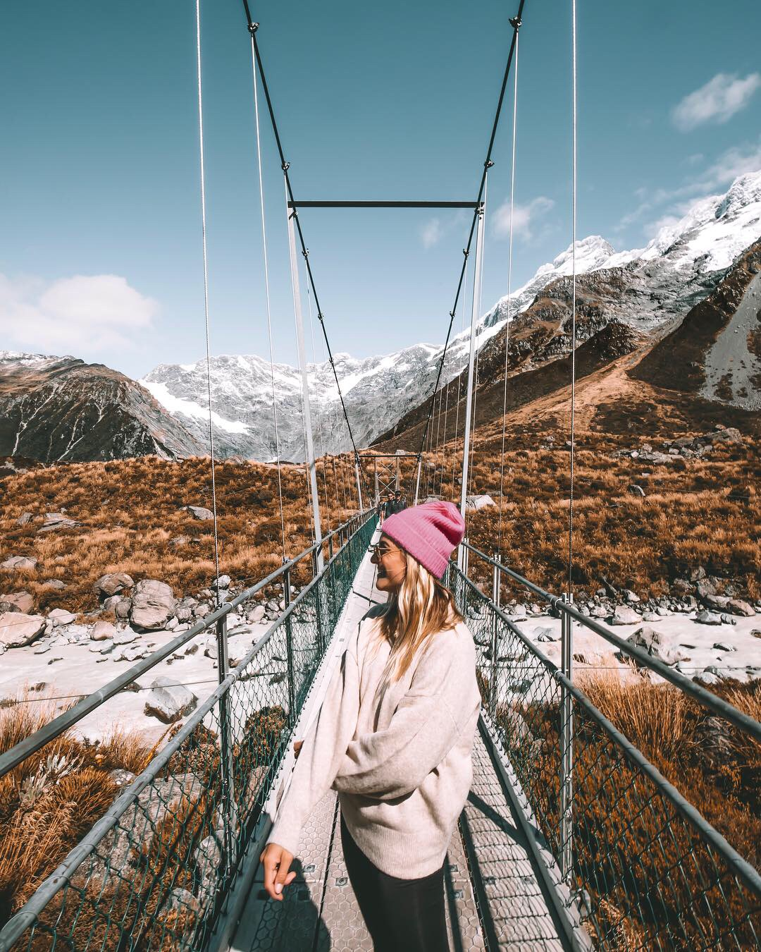 Hooker Valley Track Mount Cook - Blondie Baby blog voyages et mode