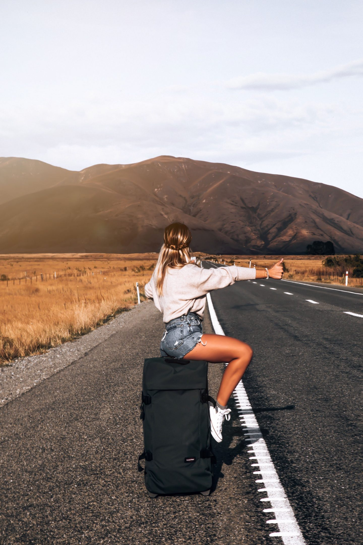Valise Eastpak - Blondie Baby blog voyages et mode