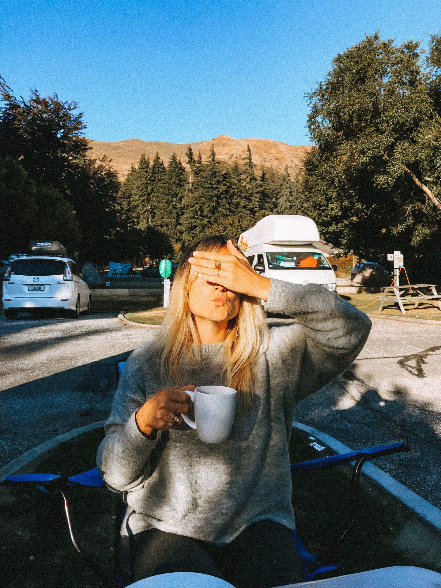 Camping Van Nouvelle-Zélande - Blondie Baby blog voyages et mode